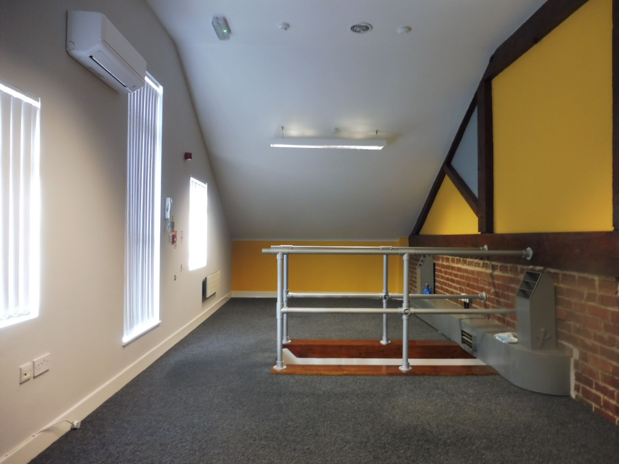 Industrial Units For Sale in Brighouse - First floor office.