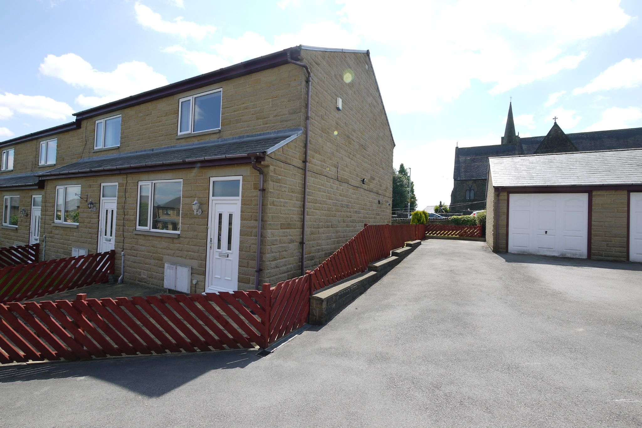 2 bedroom end terraced house SSTC in Brighouse - Front.
