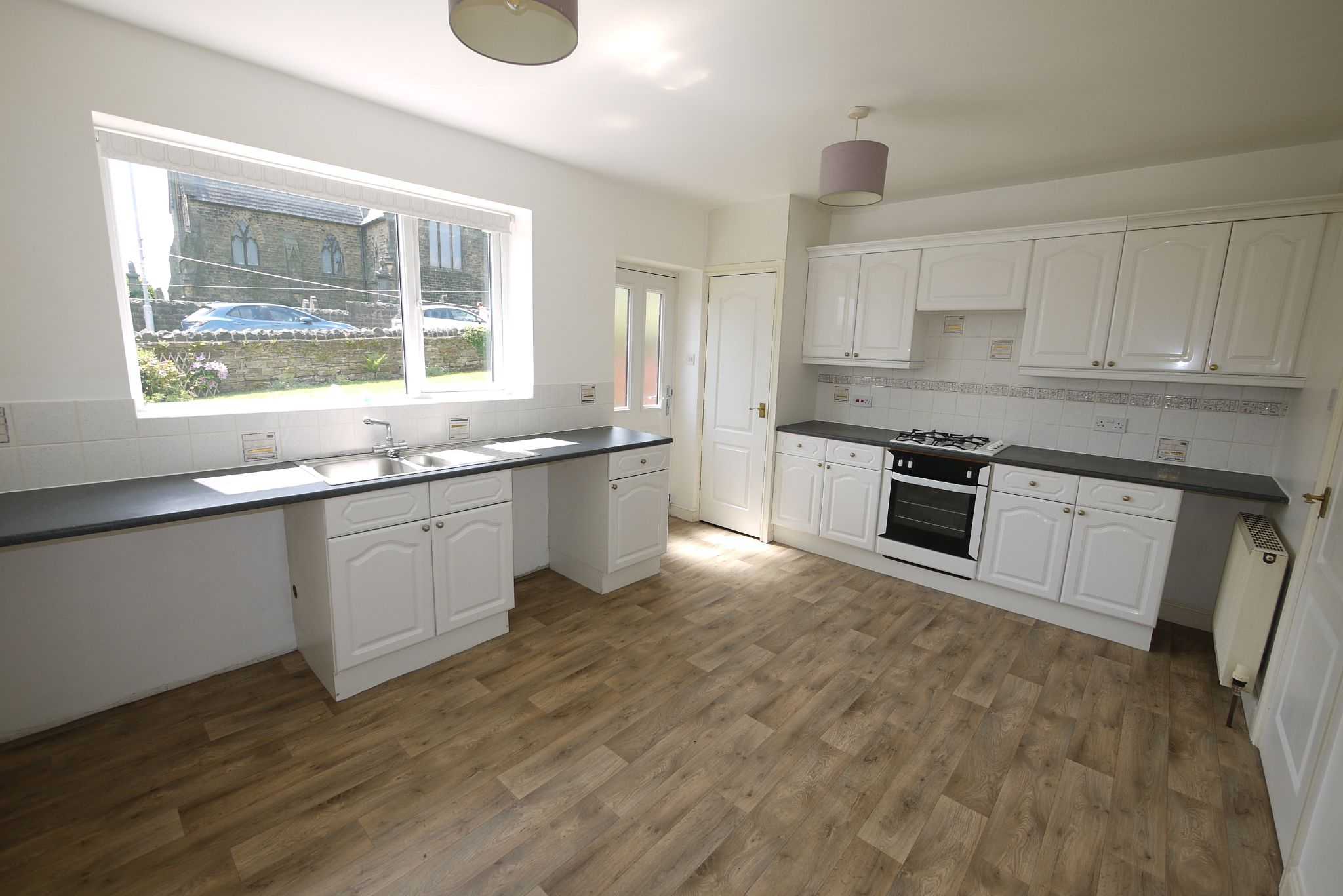 2 bedroom end terraced house SSTC in Brighouse - Dining Kitchen.