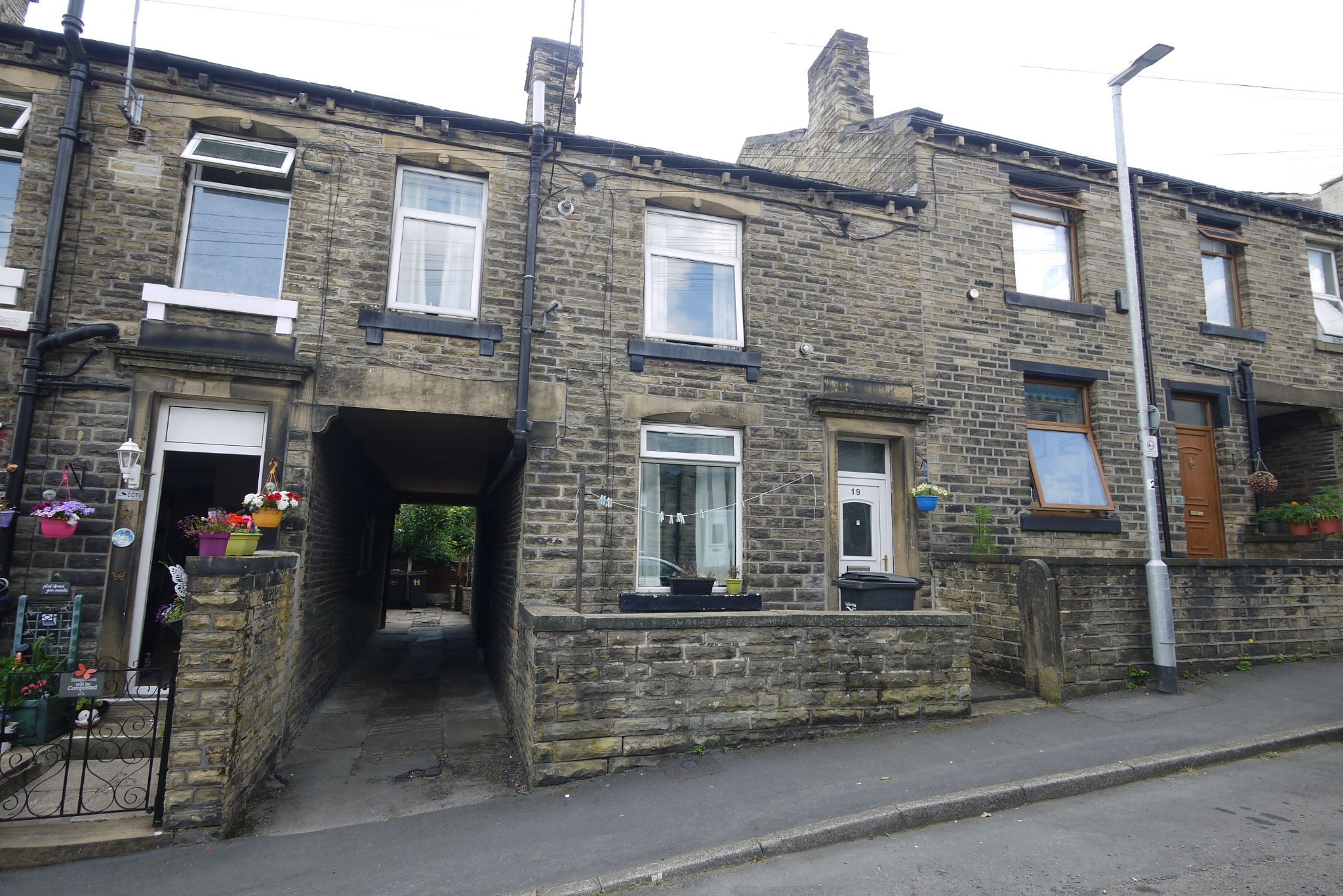 2 bedroom mid terraced house SSTC in Brighouse - External.