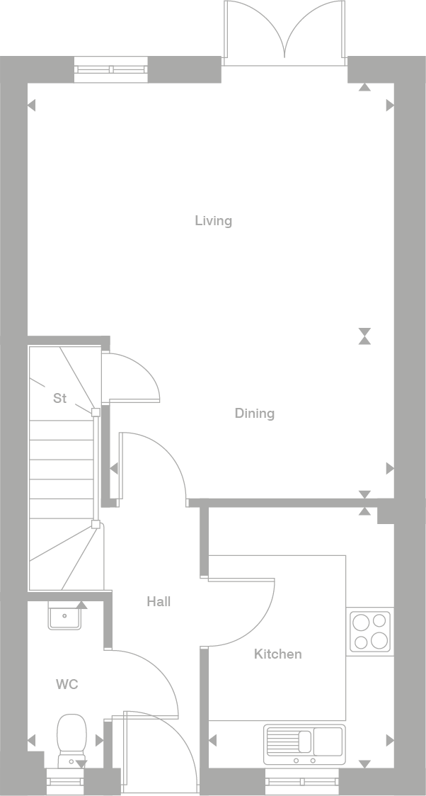 3 bedroom semi-detached house For Sale in Warton - Ground Floor