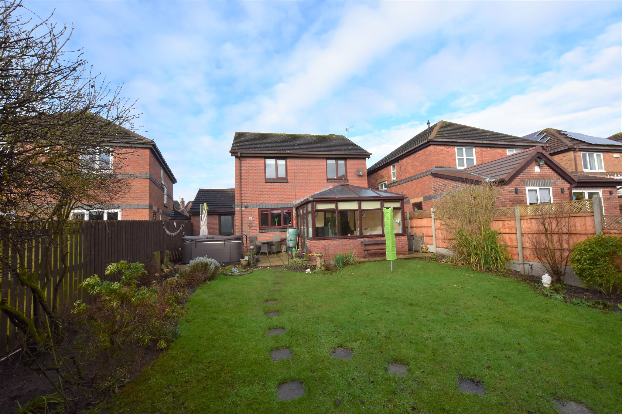 4 bedroom detached house Sold STC in Lytham St. Annes - Rear Garden