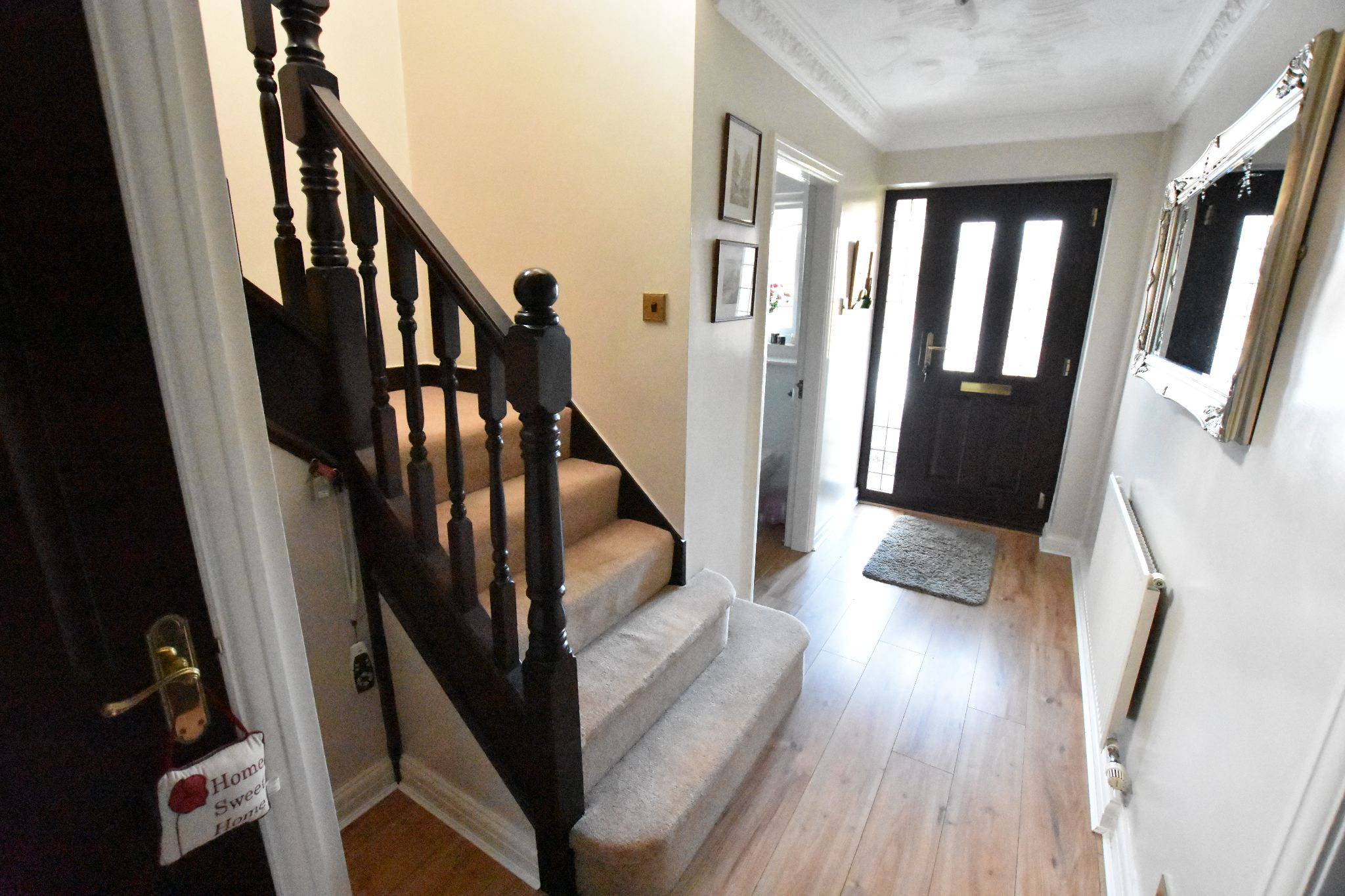 4 bedroom detached house Sold STC in Lytham St. Annes - Entrance hall
