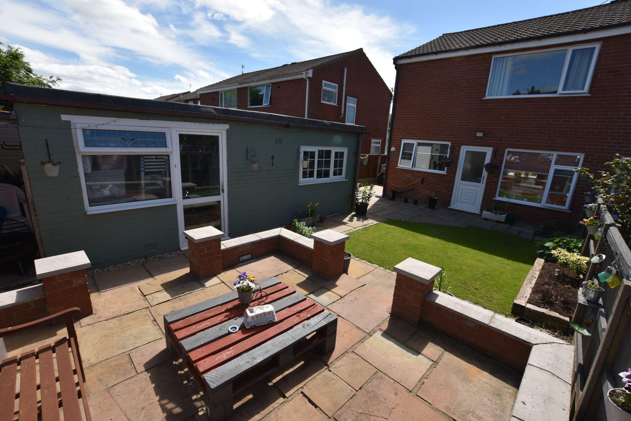 3 bedroom semi-detached house Sold STC in Preston - Rear Garden