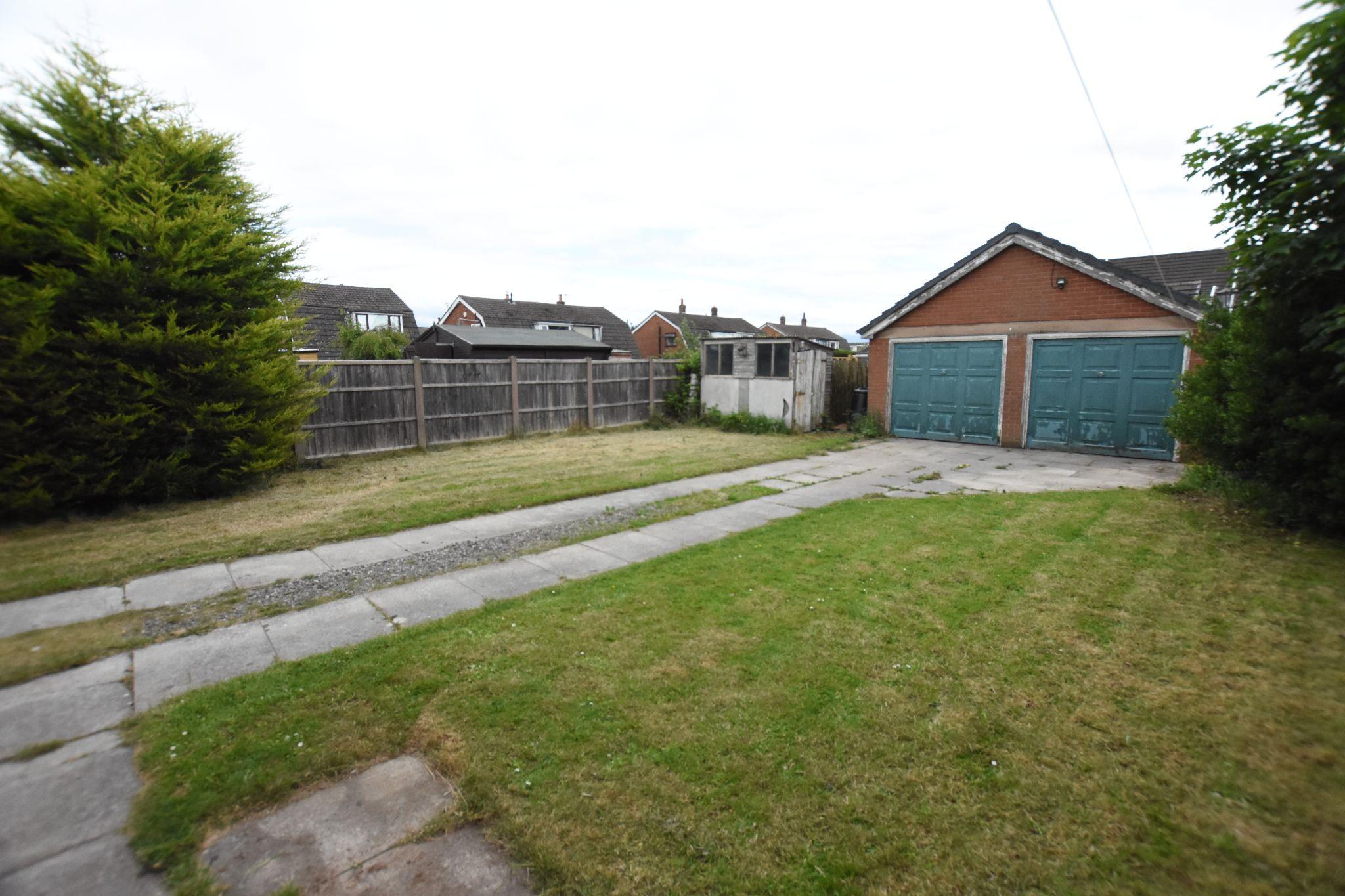 4 bedroom detached house Sold STC in Preston - Rear Garden