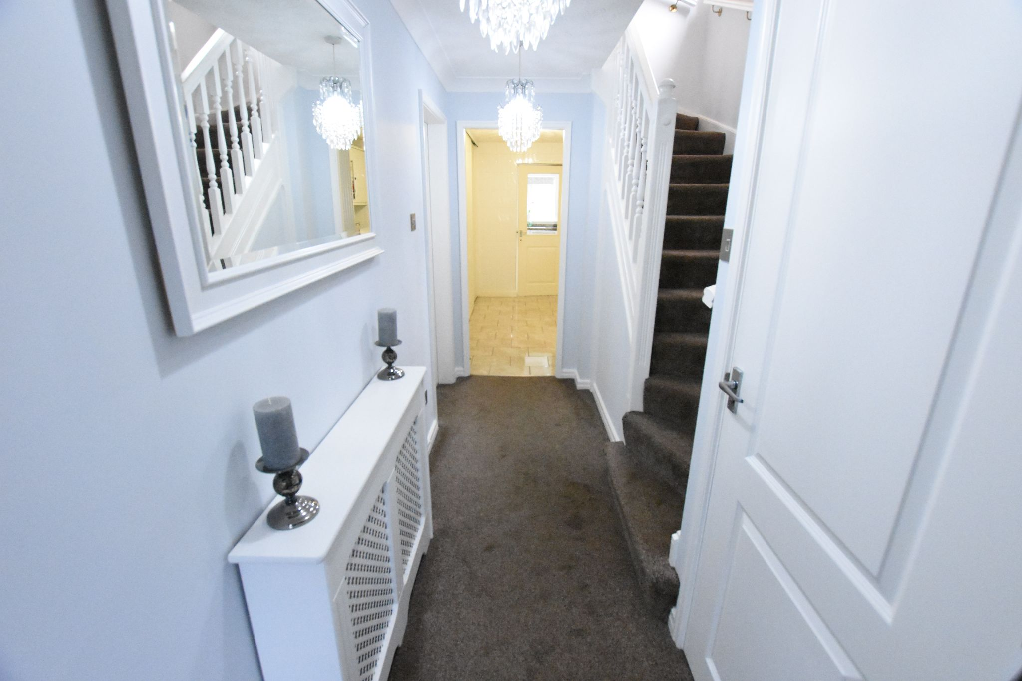3 bedroom detached house Sold STC in Preston - Entrance Hall