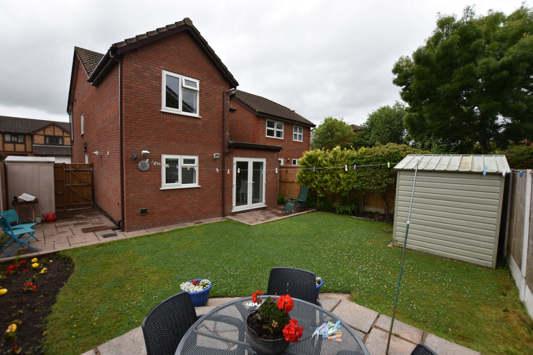 3 bedroom detached house Sold STC in Preston - Rear Garden