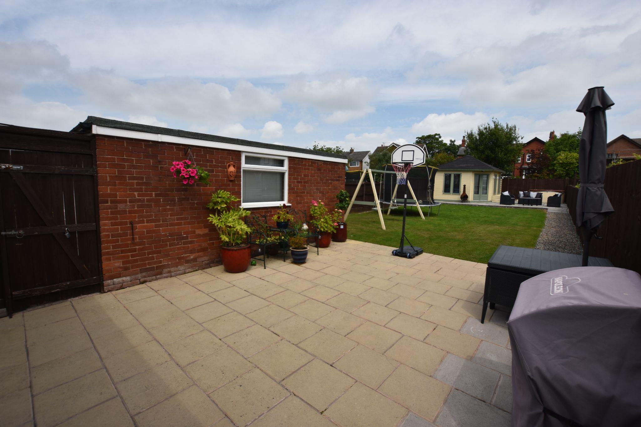 4 bedroom semi-detached bungalow Sold STC in Preston - Rear Garden