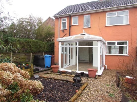 3 Bedroom End Terraced House To Rent - Rear