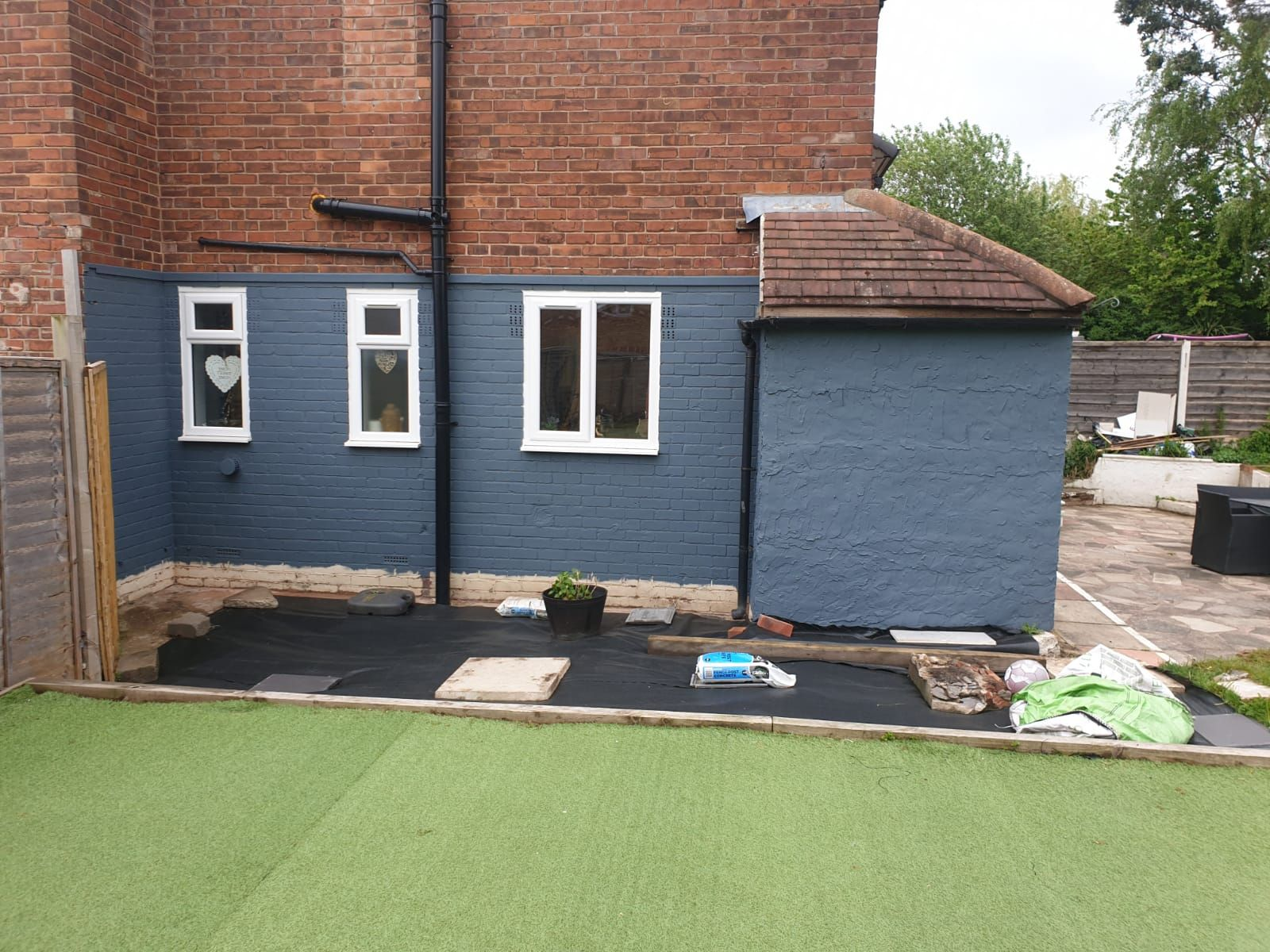 3 Bedroom Mid Terraced House For Sale - Work In Progress/Rear