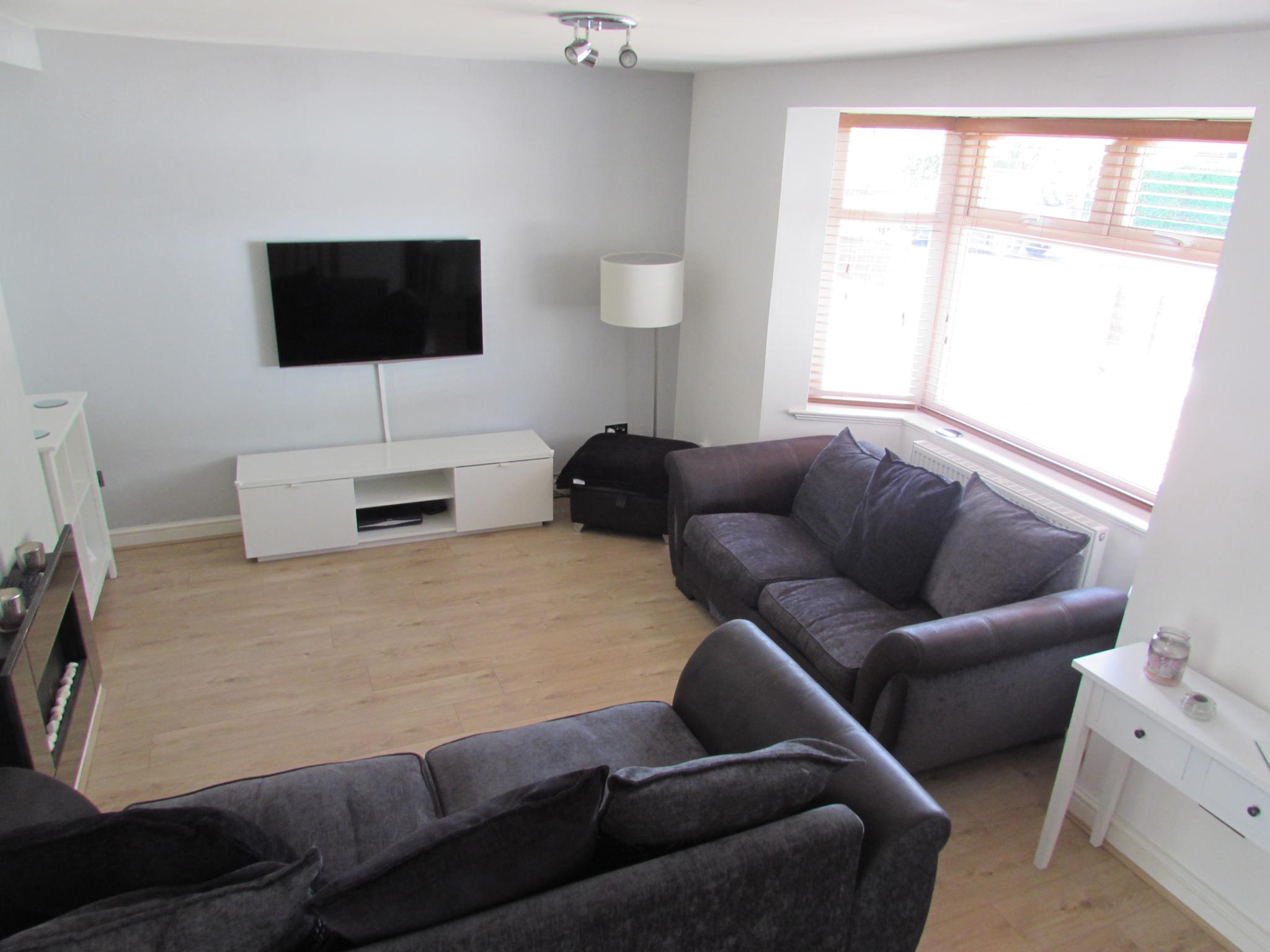 3 Bedroom Semi Detached House For Sale In 1 Meliden Crescent Cost Of Rewiring A Bed Uk Lounge