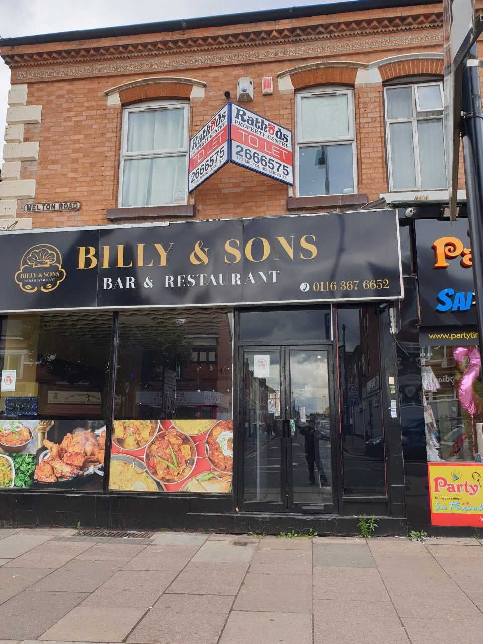 Restaurant To Let Front Shop 24 Melton Road Main Image
