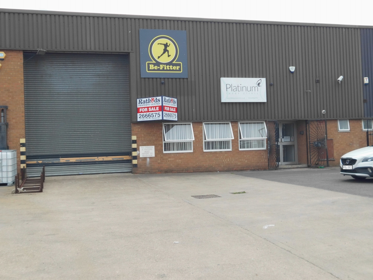 Industrial Units SSTC in Leicester - Photograph 1.