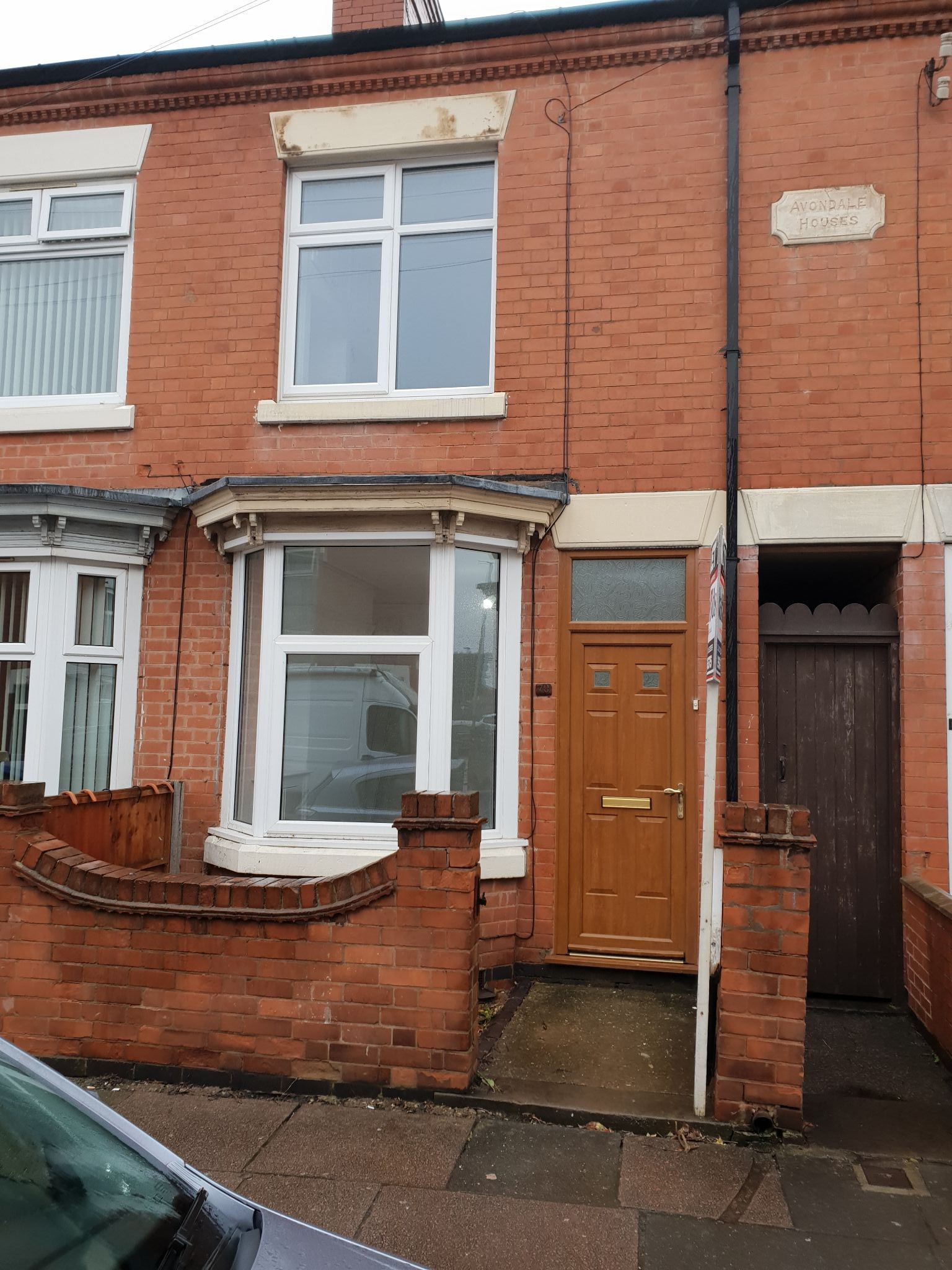 3 bedroom mid terraced house To Let in Leicester - Photograph 1.