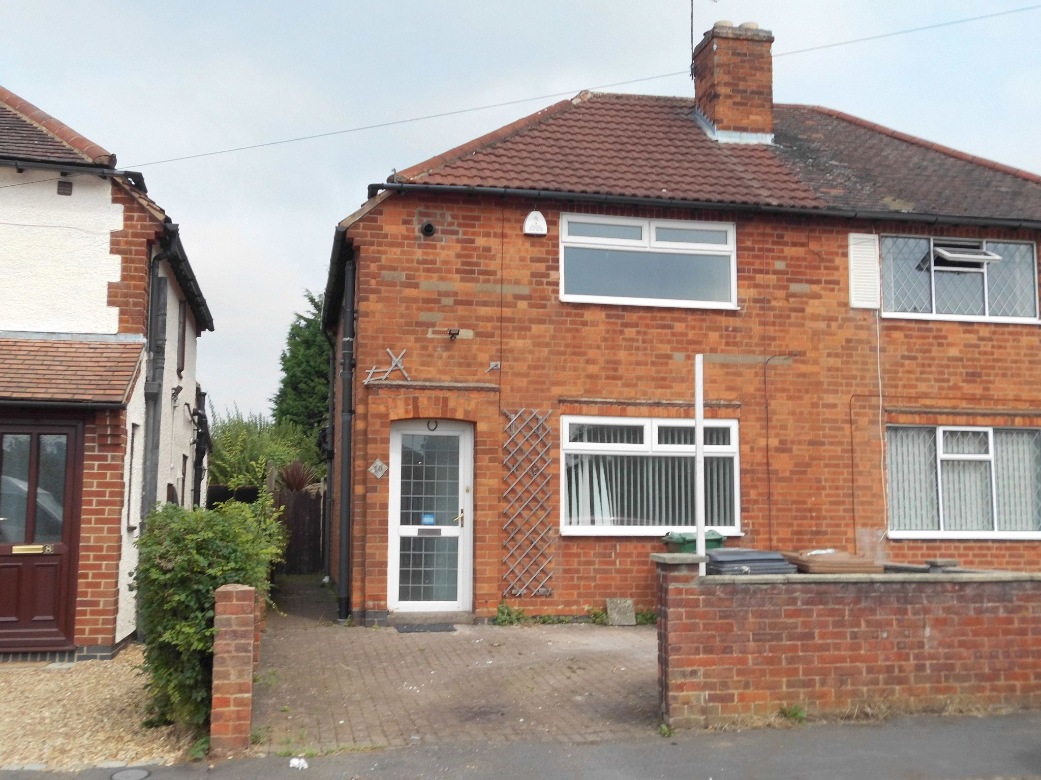 3 bedroom semi-detached house Reserved in Leicester - Photograph 1.