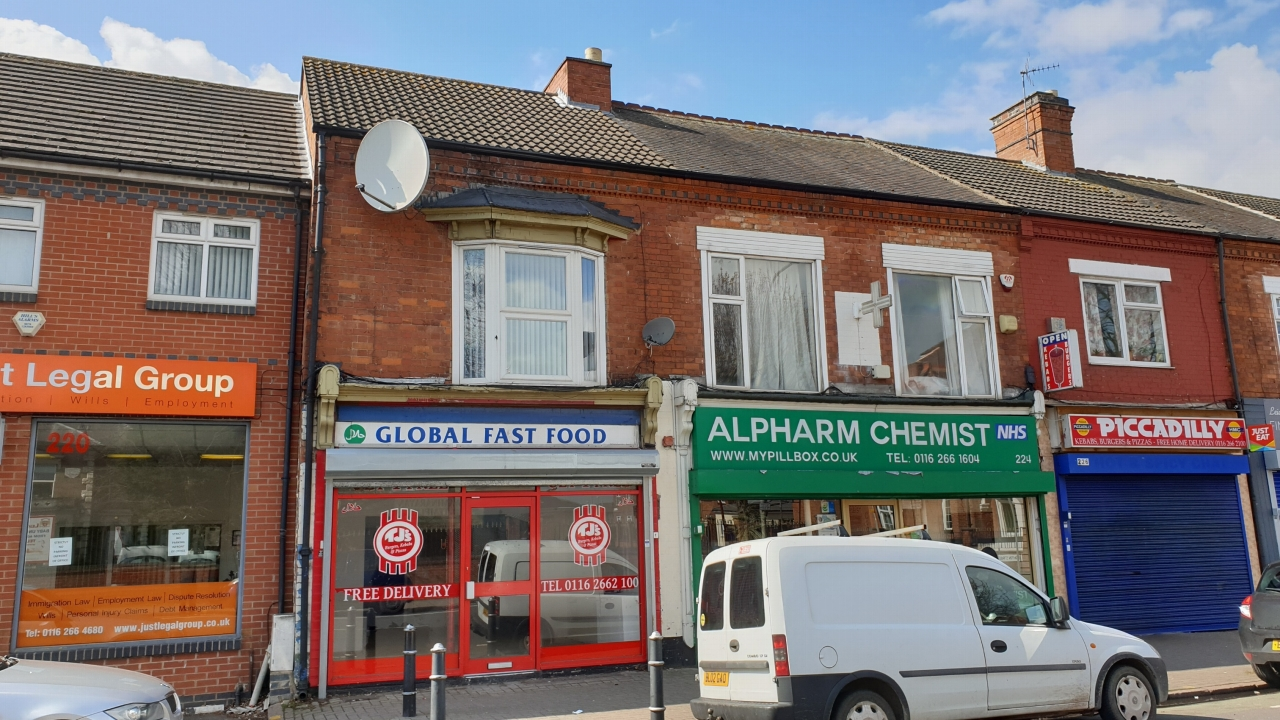 Shop Sold Subject to Contract 222 Loughborough Road Main Image