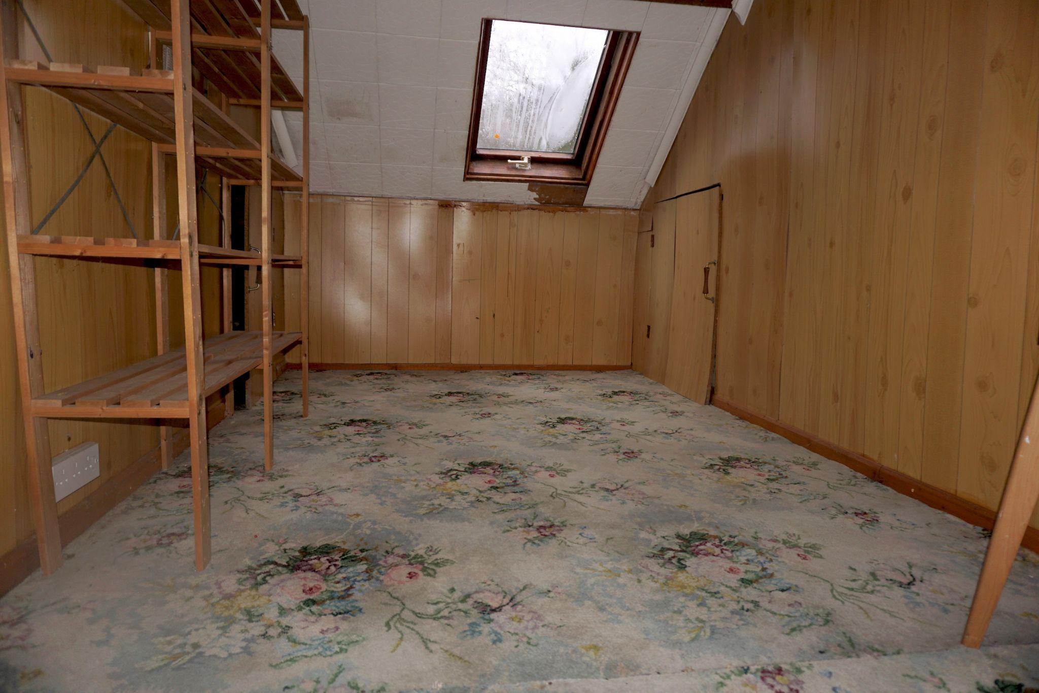 2 Bedroom Detached Bungalow For Sale - Loft Room/Bedroom 3