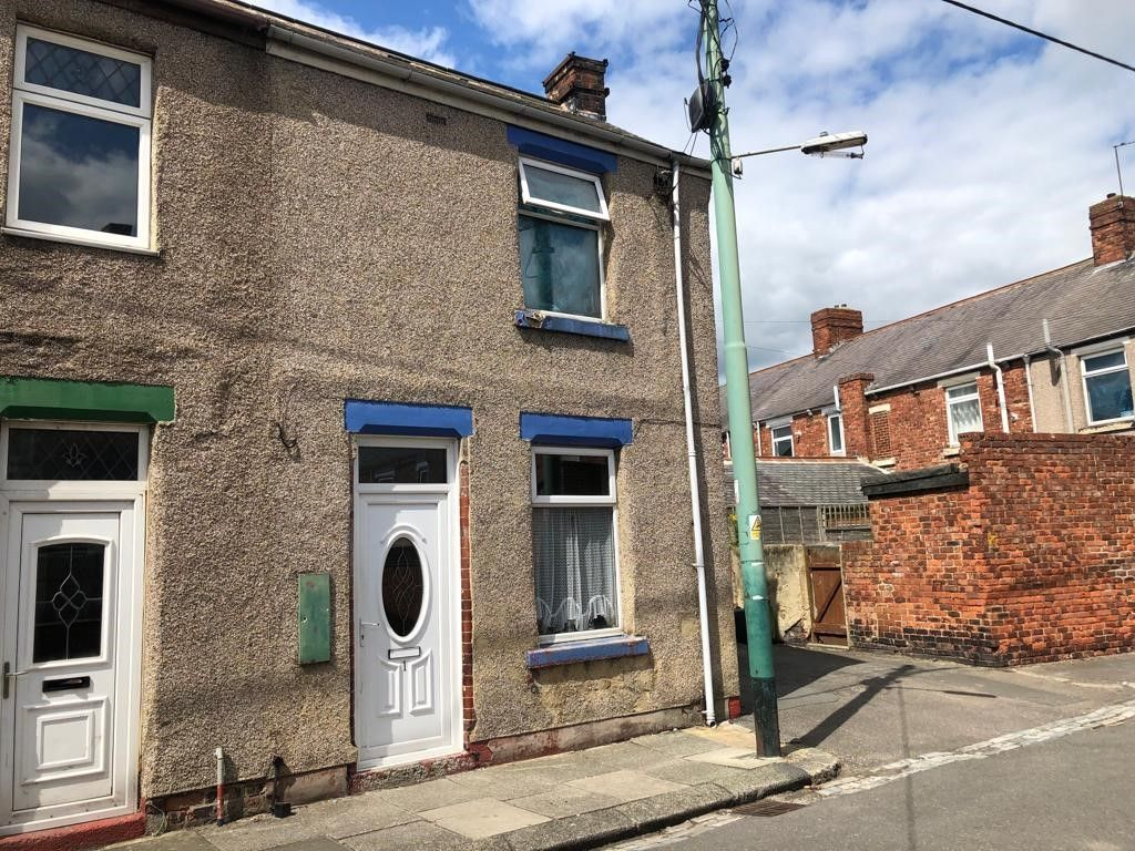 2 Bedroom End Terraced House For Sale - Front View 1 Faraday St.