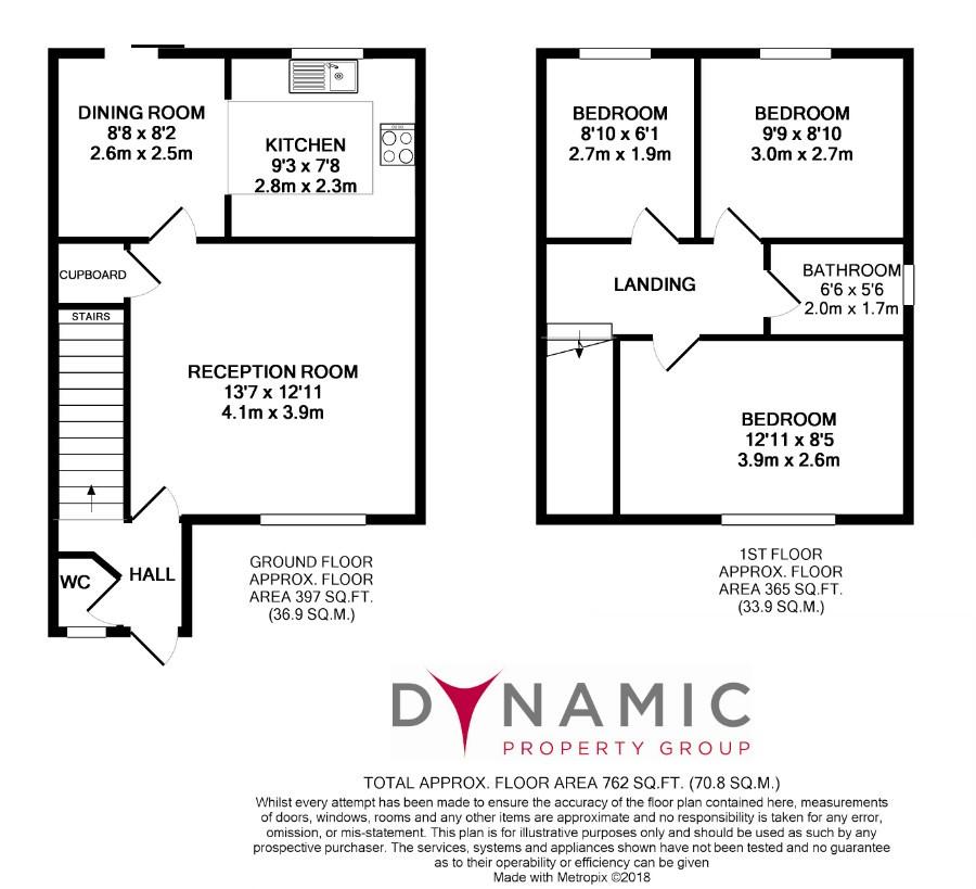 3 bedroom semi detached house to rent in 33 richardson for Richardson homes floor plans