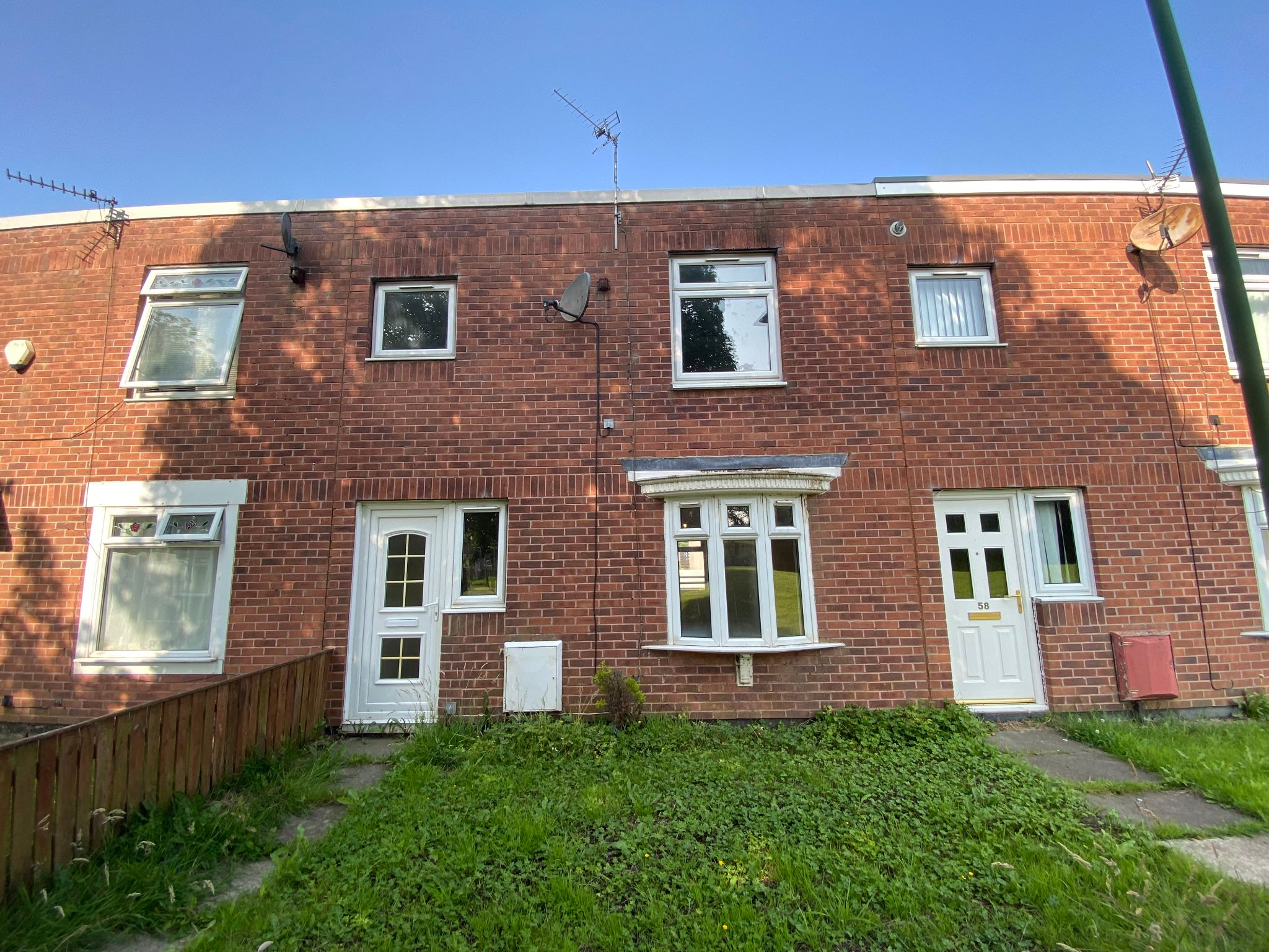3 bedroom mid terraced house Let in Newton Aycliffe - Photograph 1.