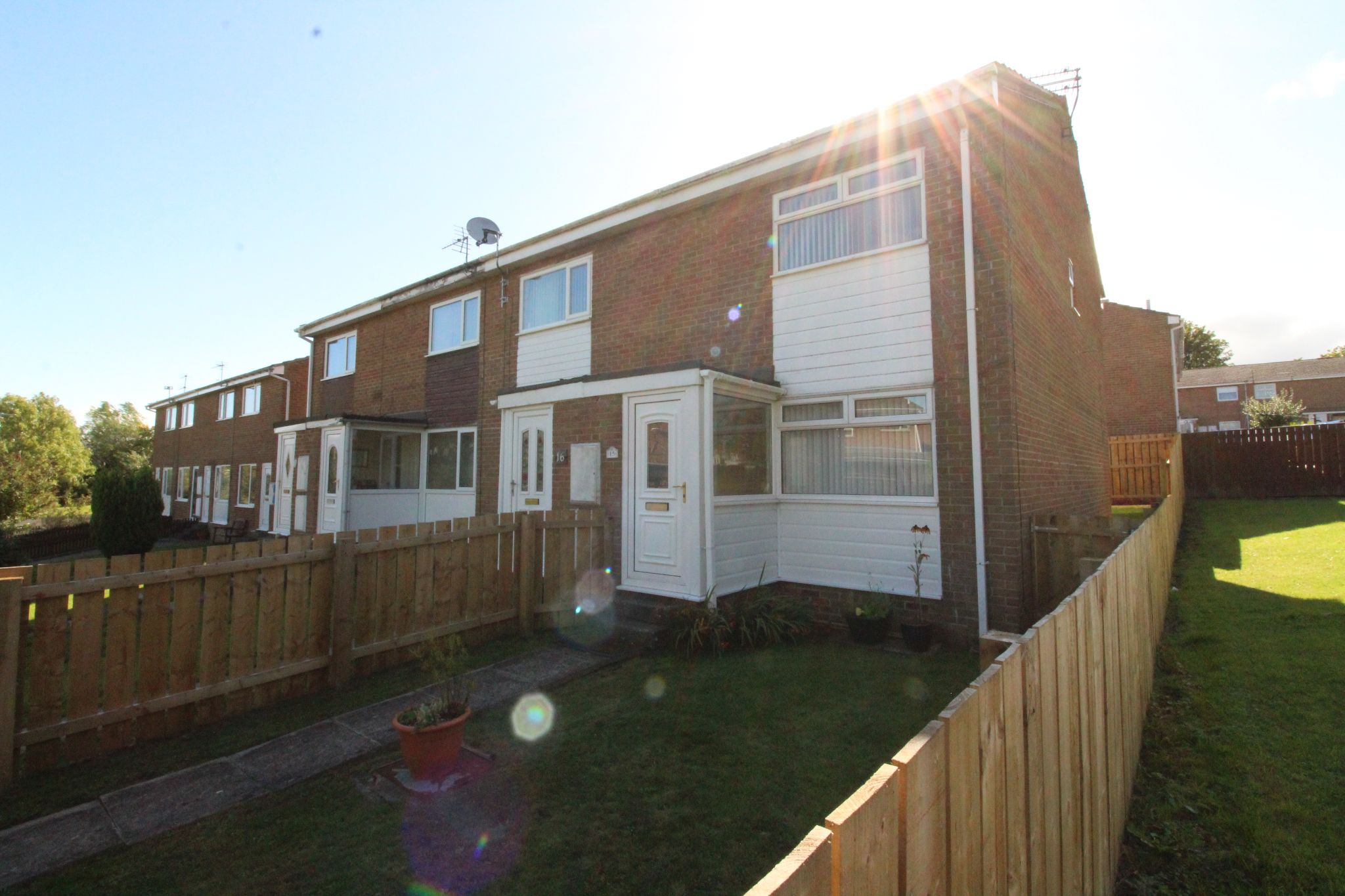 2 bedroom end terraced house Let Agreed in Crook - Photograph 1.