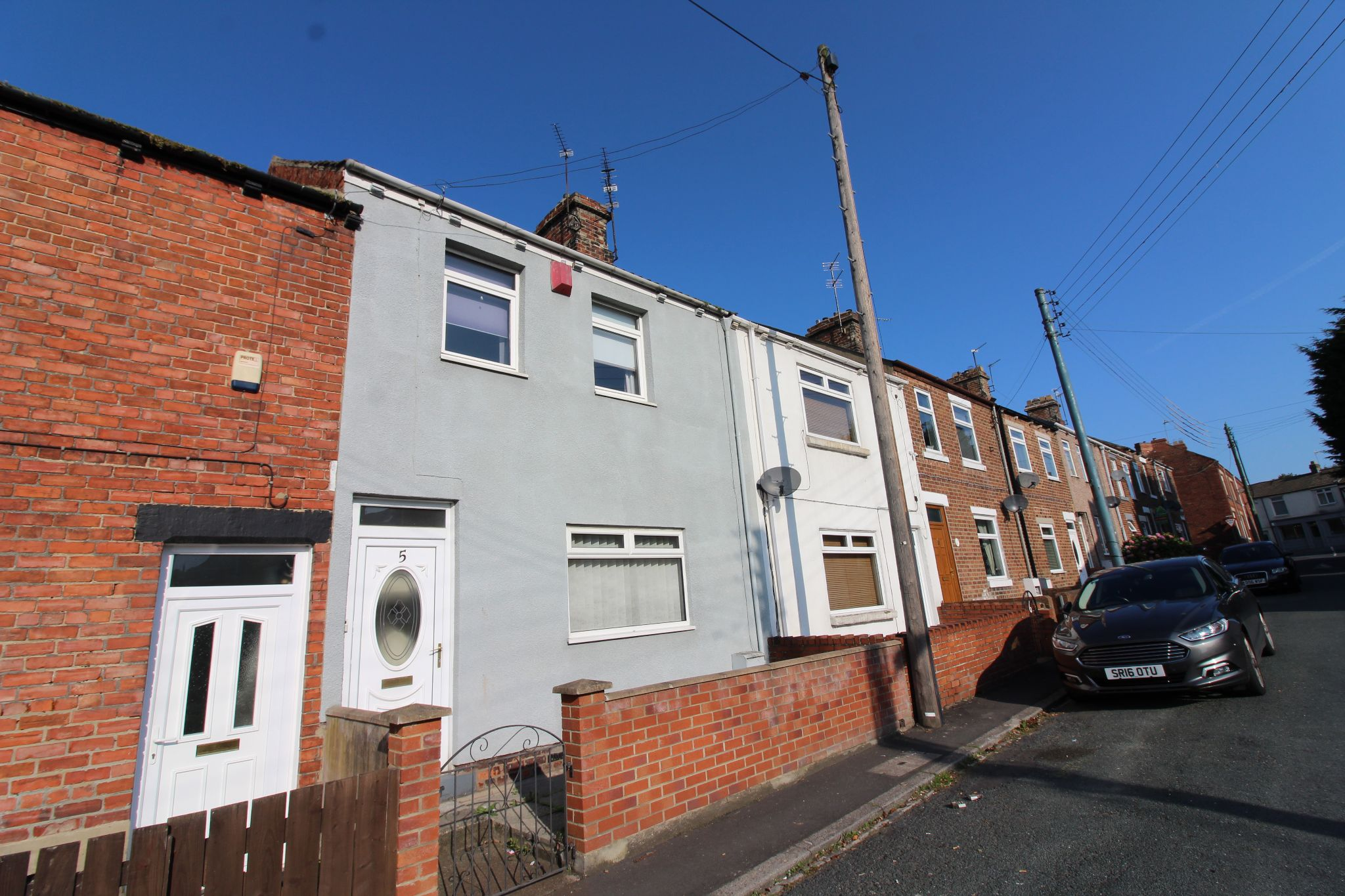 3 bedroom mid terraced house To Let in Willington - Photograph 1.