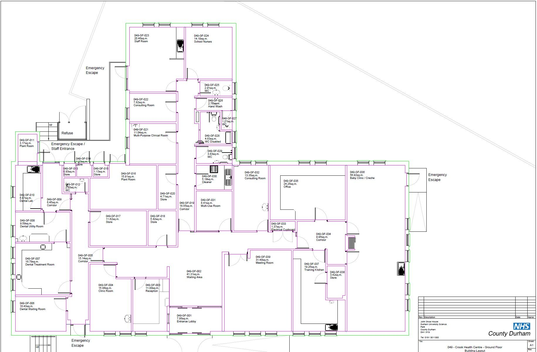 Commercial Property To Let in Crook - Floorplan 1.