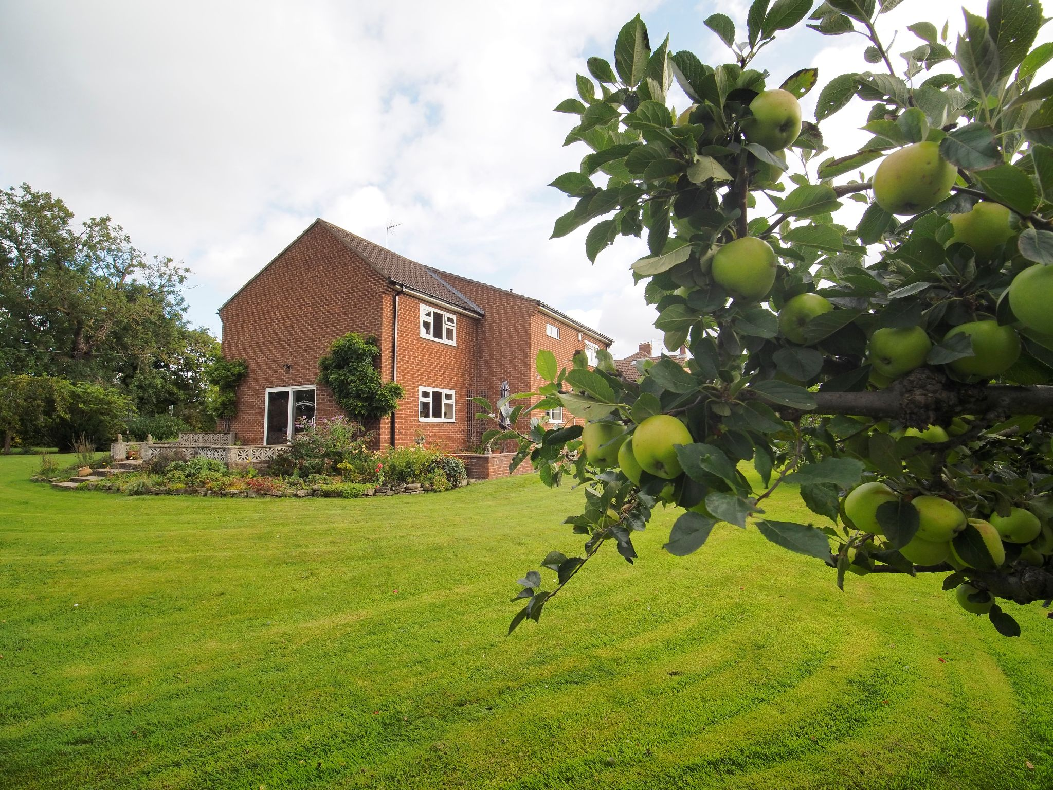4 bedroom detached house For Sale in Willington - Garden View.