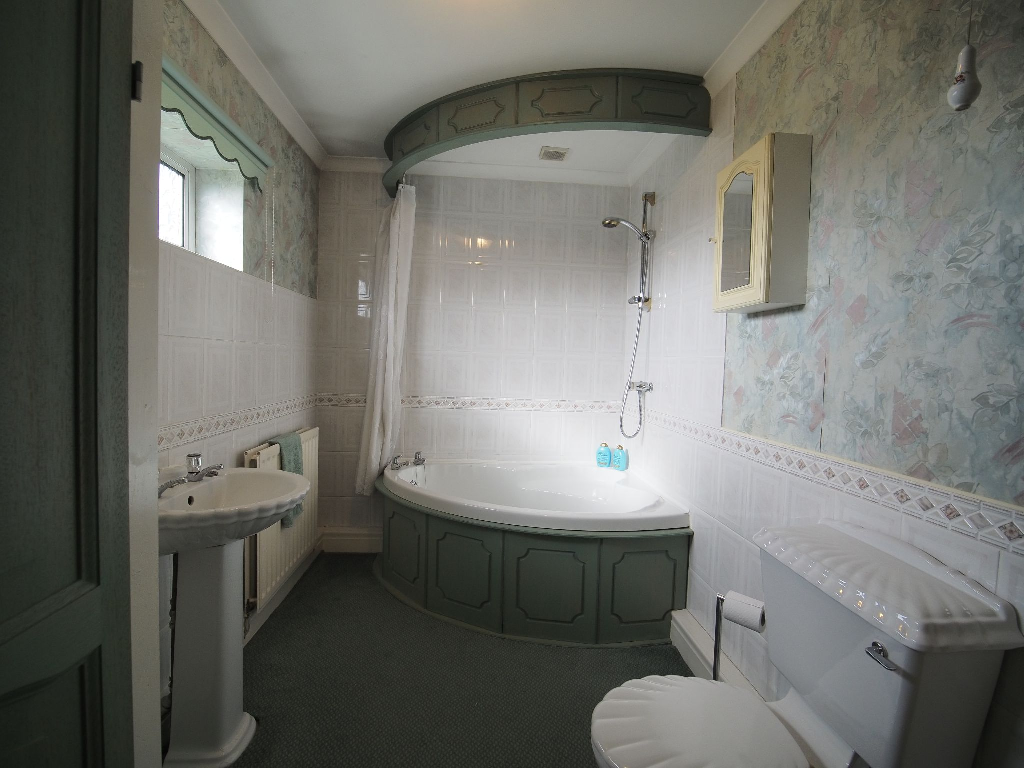 4 bedroom detached house For Sale in Willington - Family Bathroom.
