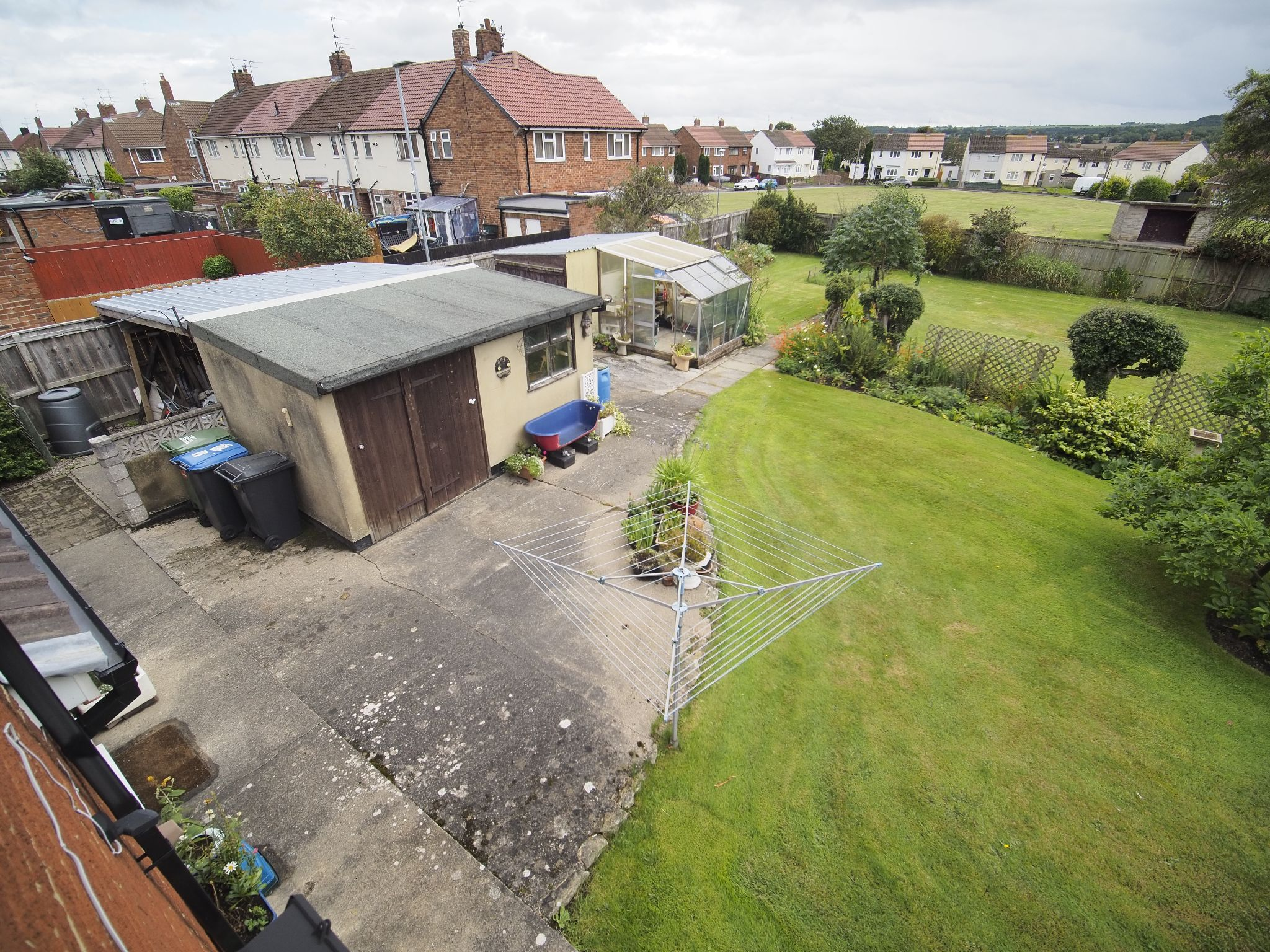 4 bedroom detached house For Sale in Willington - Storage sheds.