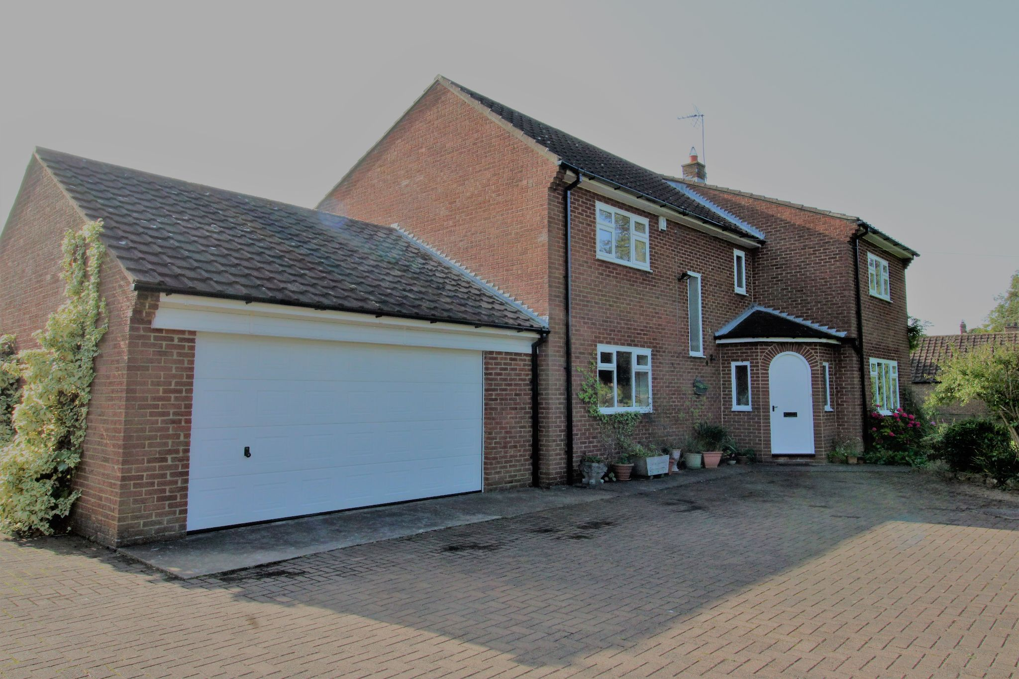 4 bedroom detached house For Sale in Willington - Front.