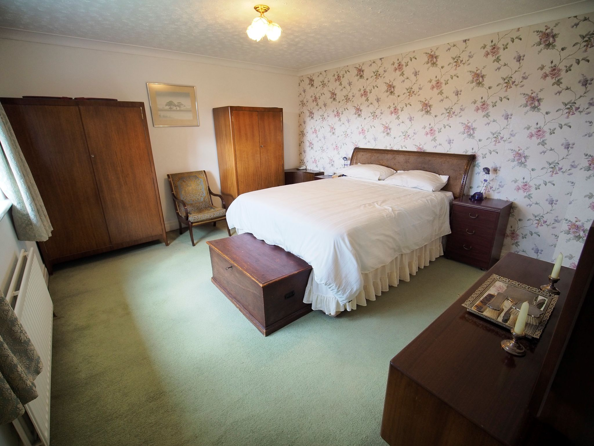 4 bedroom detached house For Sale in Willington - Main Bedroom.