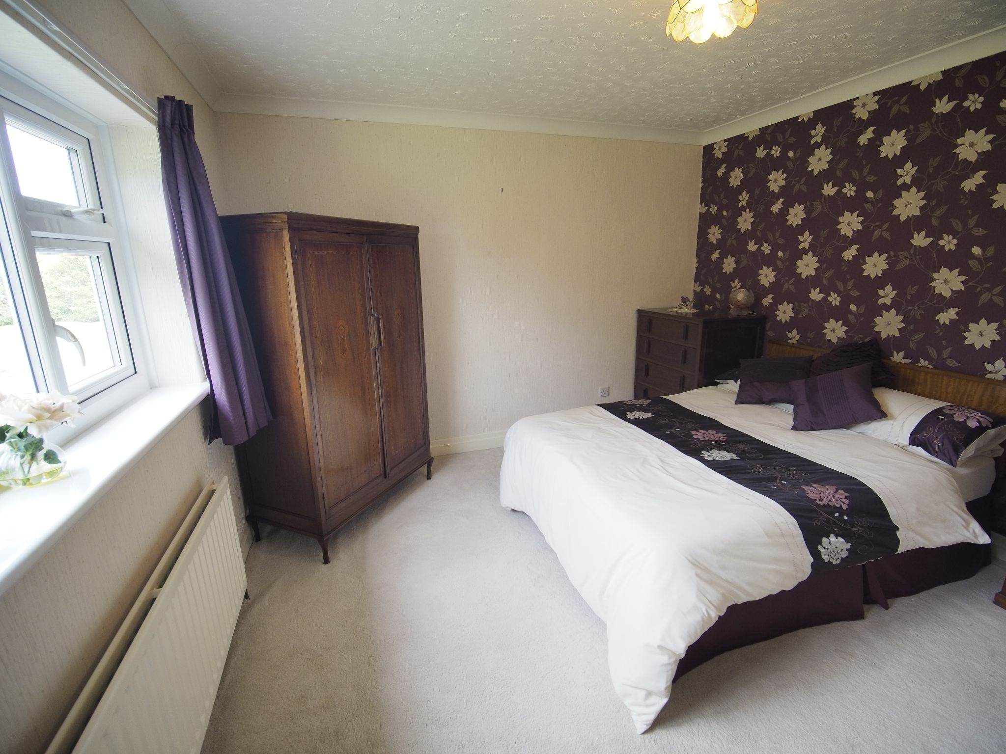 4 bedroom detached house For Sale in Willington - Double Bedroom.