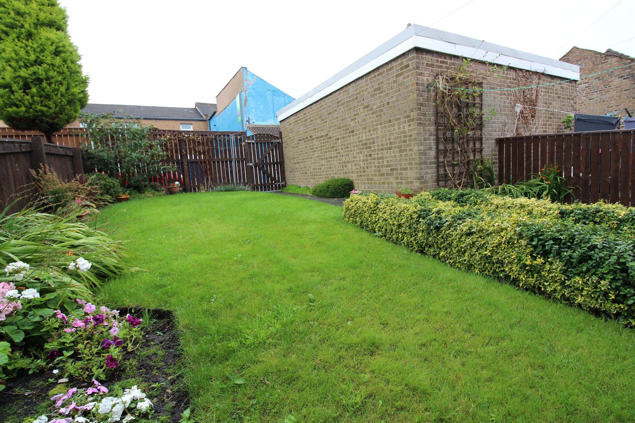 3 bedroom mid terraced house For Sale in Willington And Hunwick - Rear Garden.
