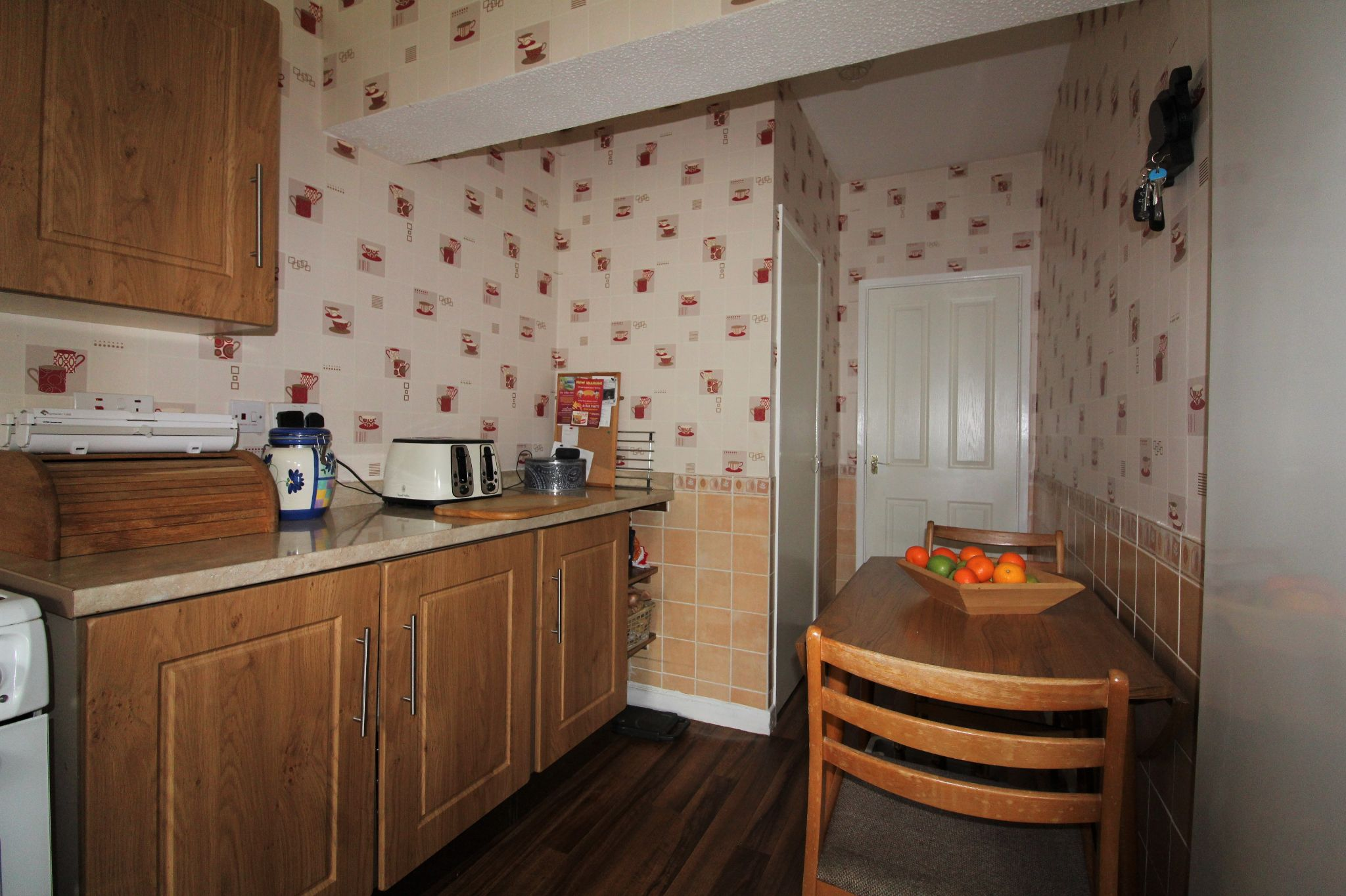 3 bedroom mid terraced house For Sale in Willington And Hunwick - Breakfast area in Kitchen.