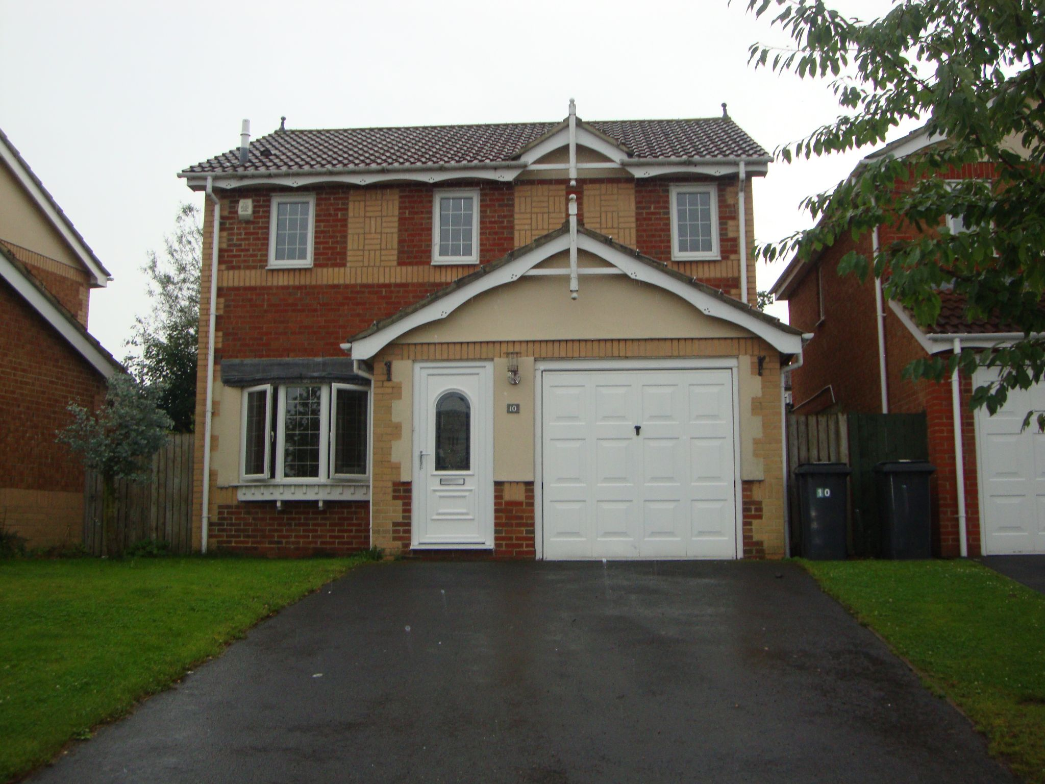 4 bedroom detached house For Sale in Durham - View of front of property.