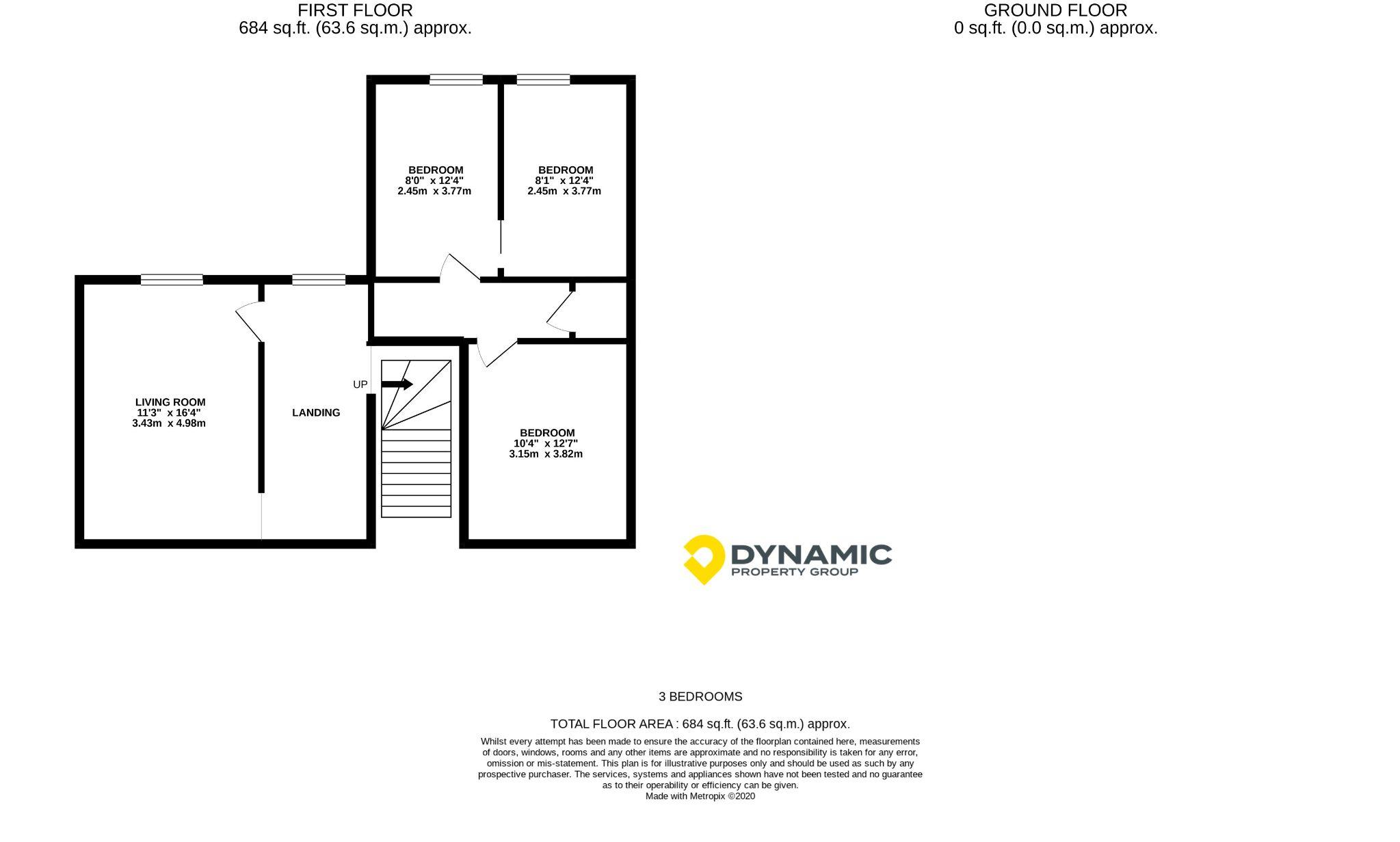3 bedroom detached house For Sale in Durham - Floorplan 1.