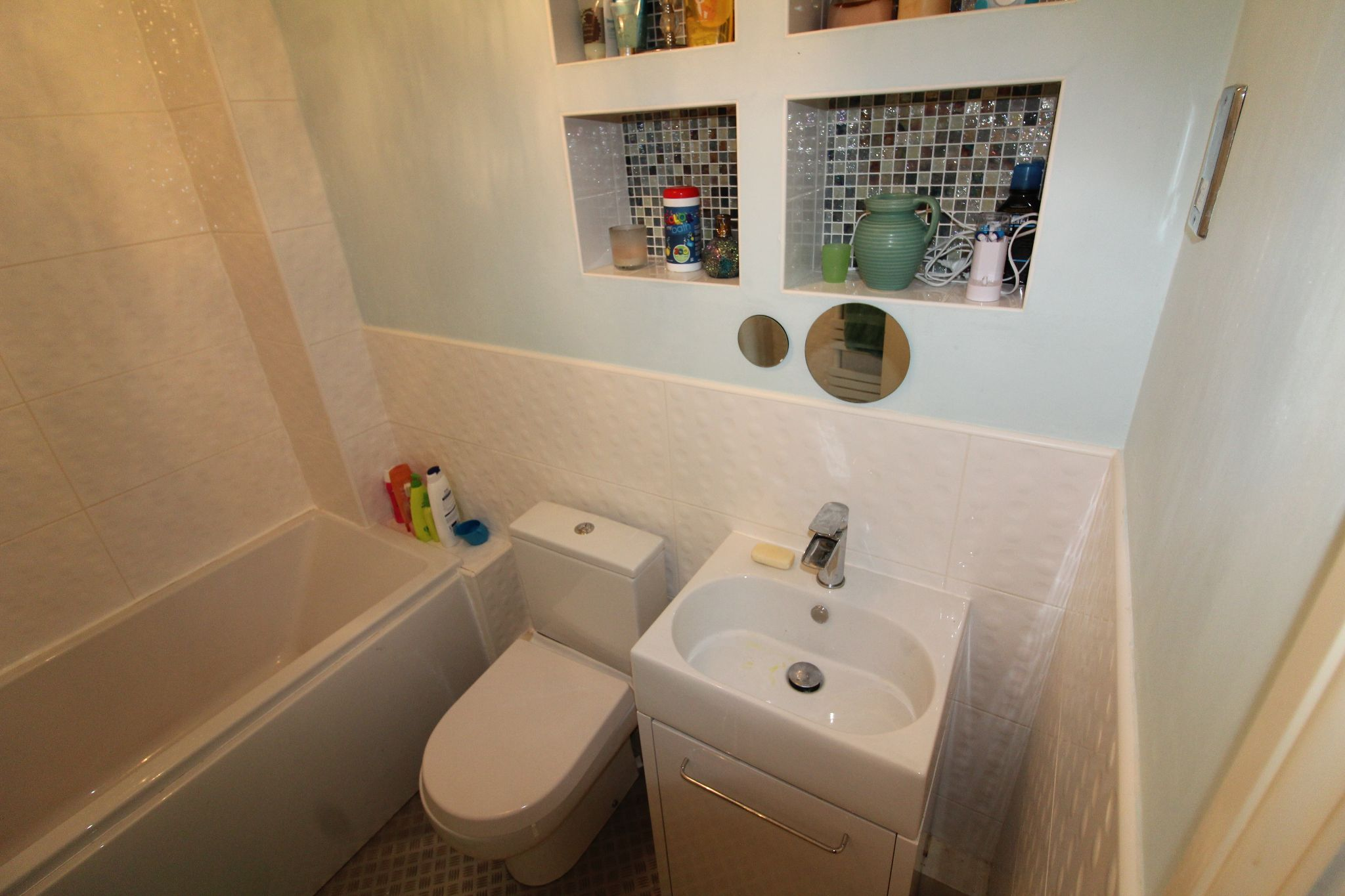 4 bedroom detached house Sale Agreed in Durham - Family Bathroom.
