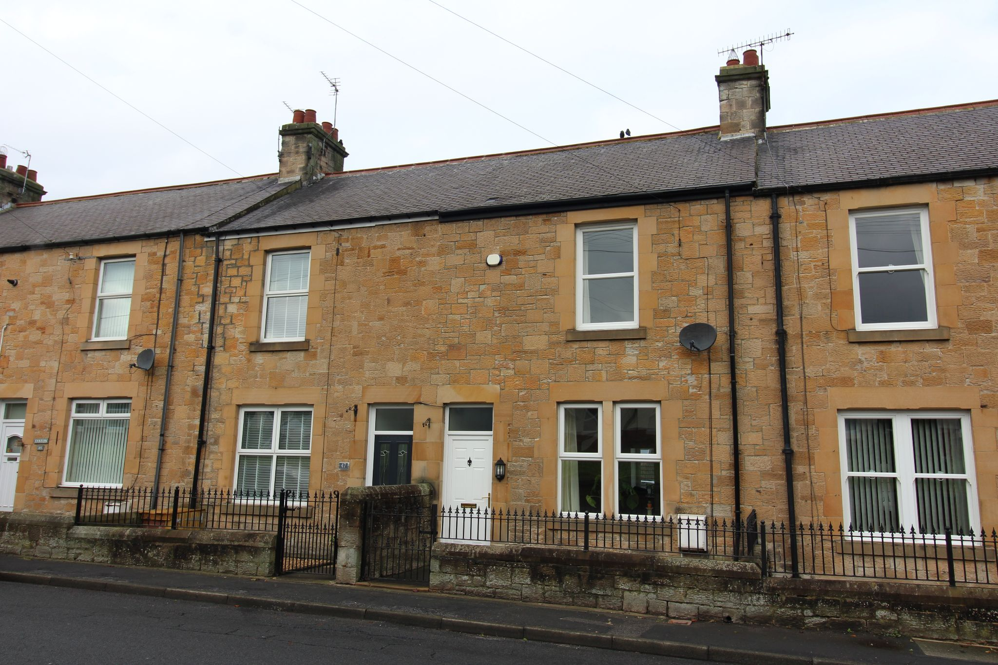 2 bedroom mid terraced house To Let in Consett - Photograph 1.