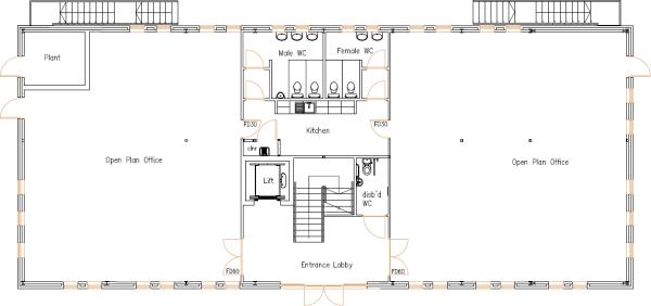 Office To Let in Meadowfield Industrial Estate - First Floor.