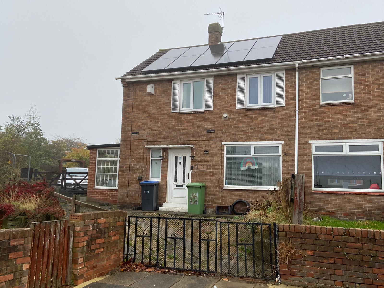 3 bedroom mid terraced house Let in Shildon - Photograph 1.