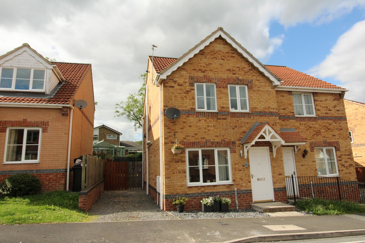 3 bedroom semi-detached house For Sale in Crook - Photograph 1.