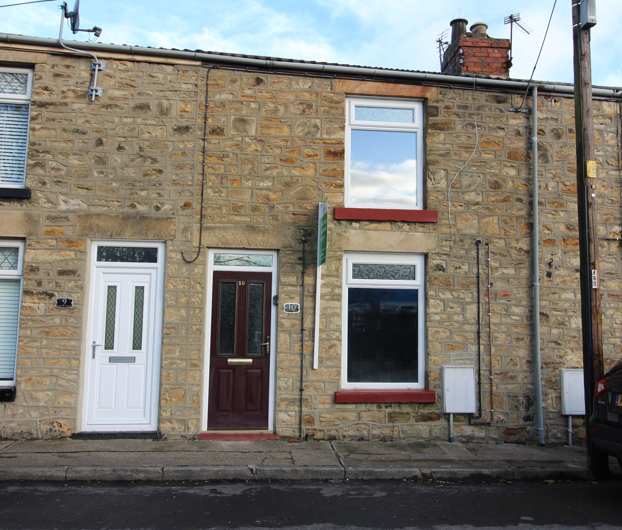 2 bedroom mid terraced house Let in Howden Le Wear - Photograph 1.