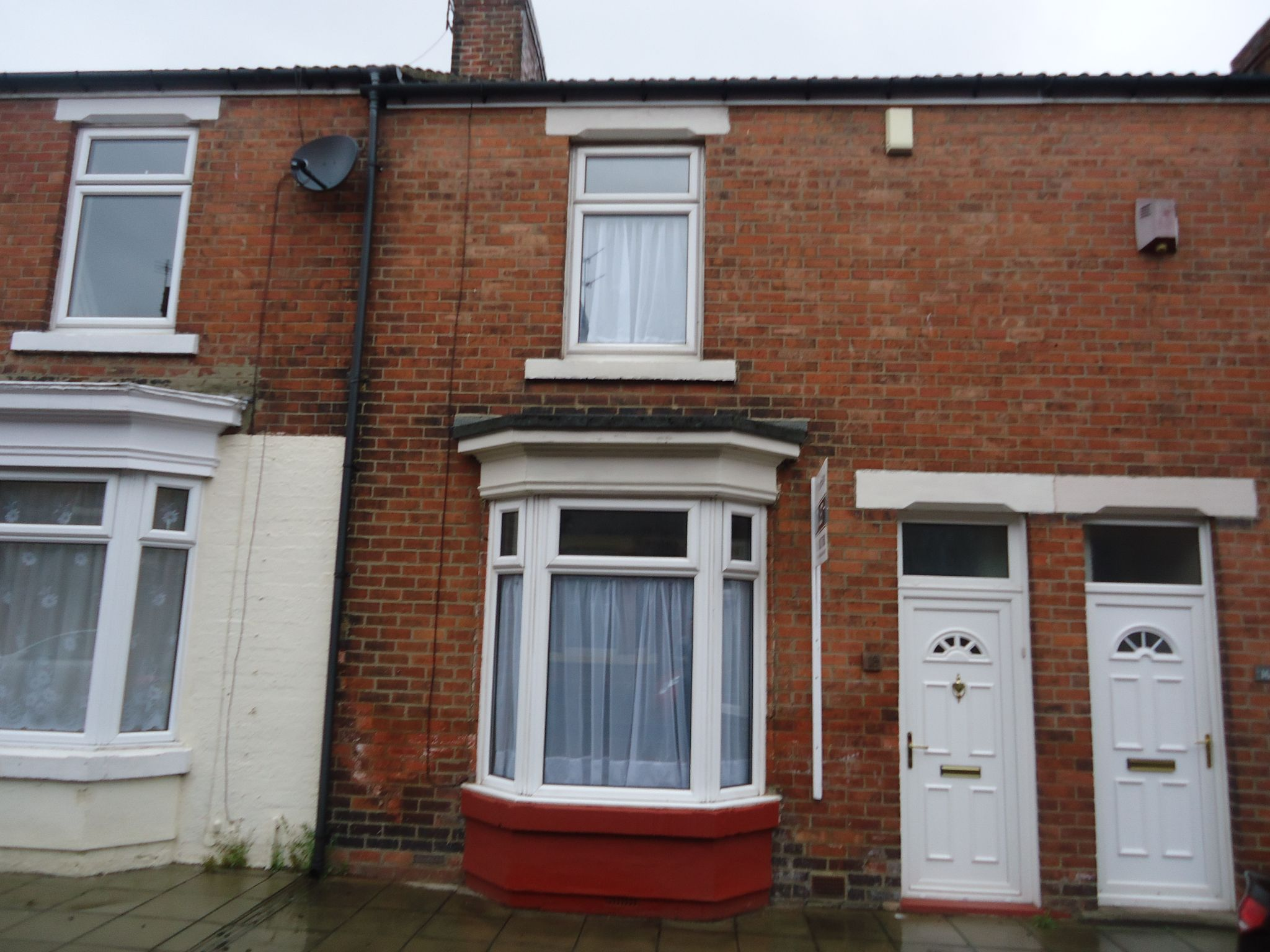 2 bedroom mid terraced house To Let in Shildon - Photograph 1.