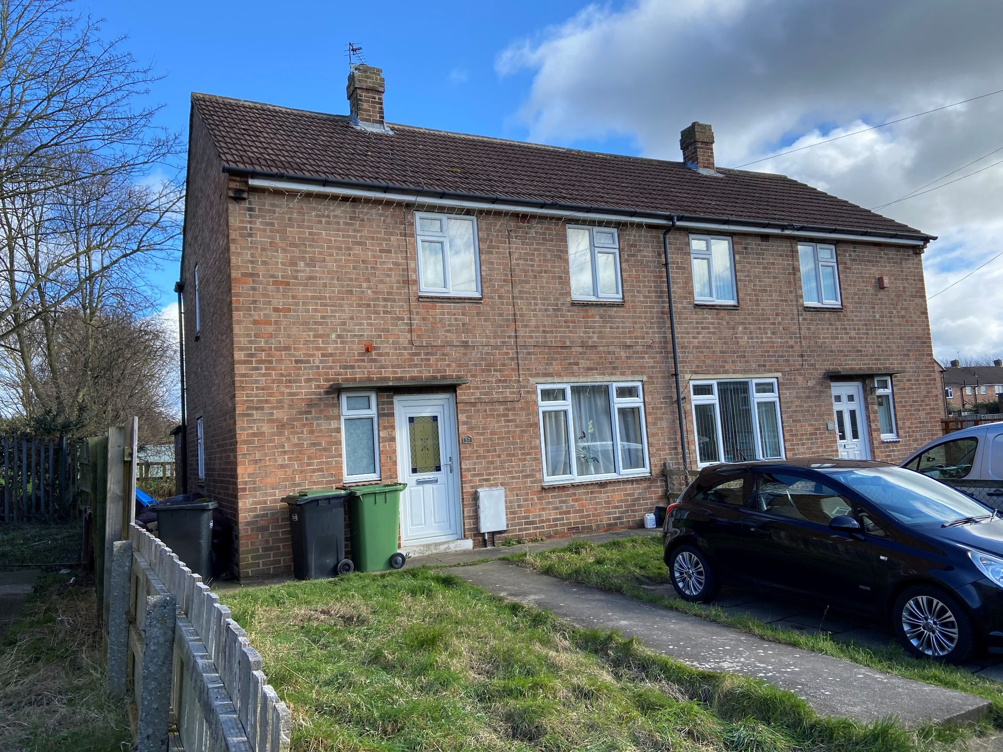 2 bedroom semi-detached house For Sale in Shildon - Photograph 1.