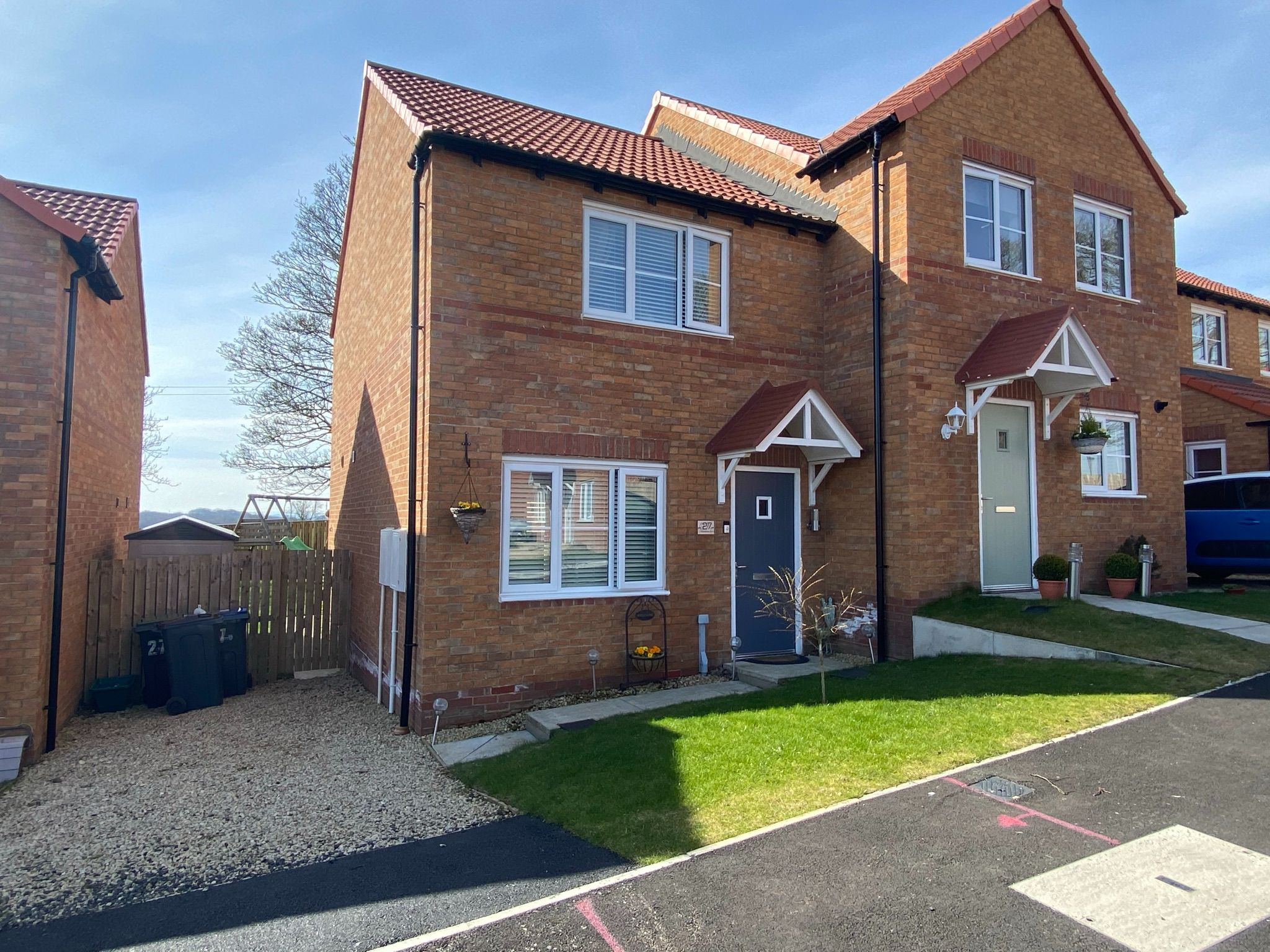 2 bedroom semi-detached house For Sale in Crook - Photograph 1.
