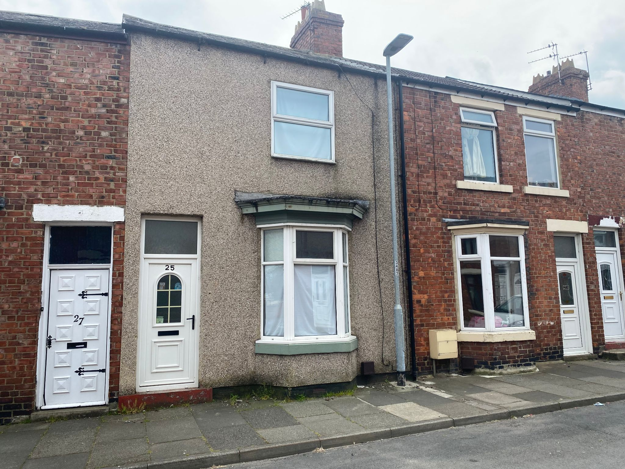 2 bedroom mid terraced house For Sale in Shildon - Photograph 1.