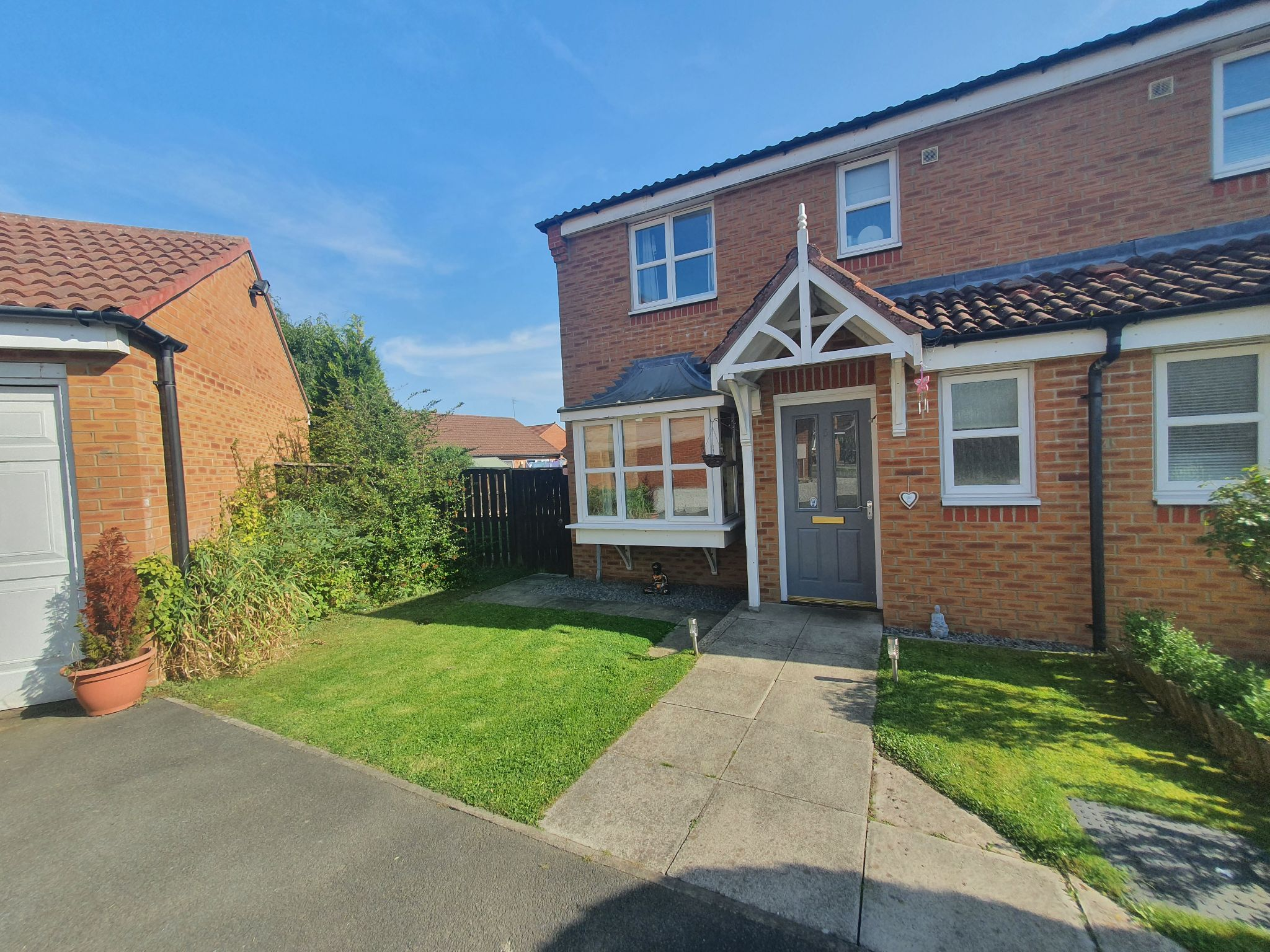 3 bedroom semi-detached house For Sale in Willington - Photograph 1.