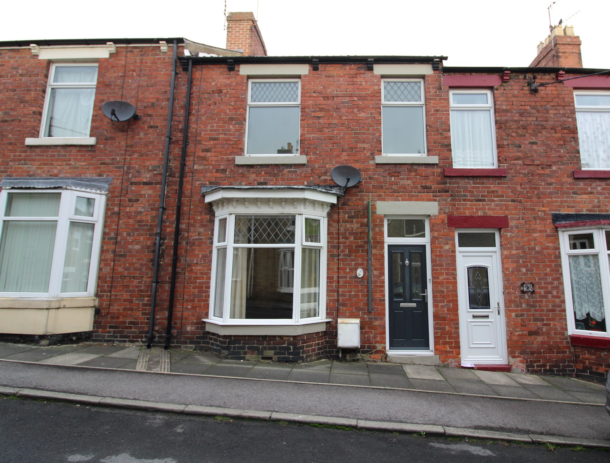 3 bedroom mid terraced house For Sale in Crook - Photograph 1.