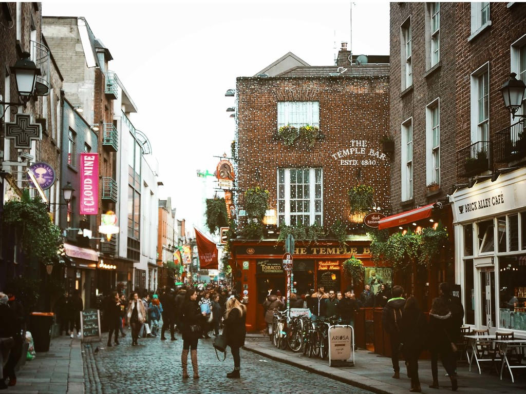 Temple Bar bagageopslag